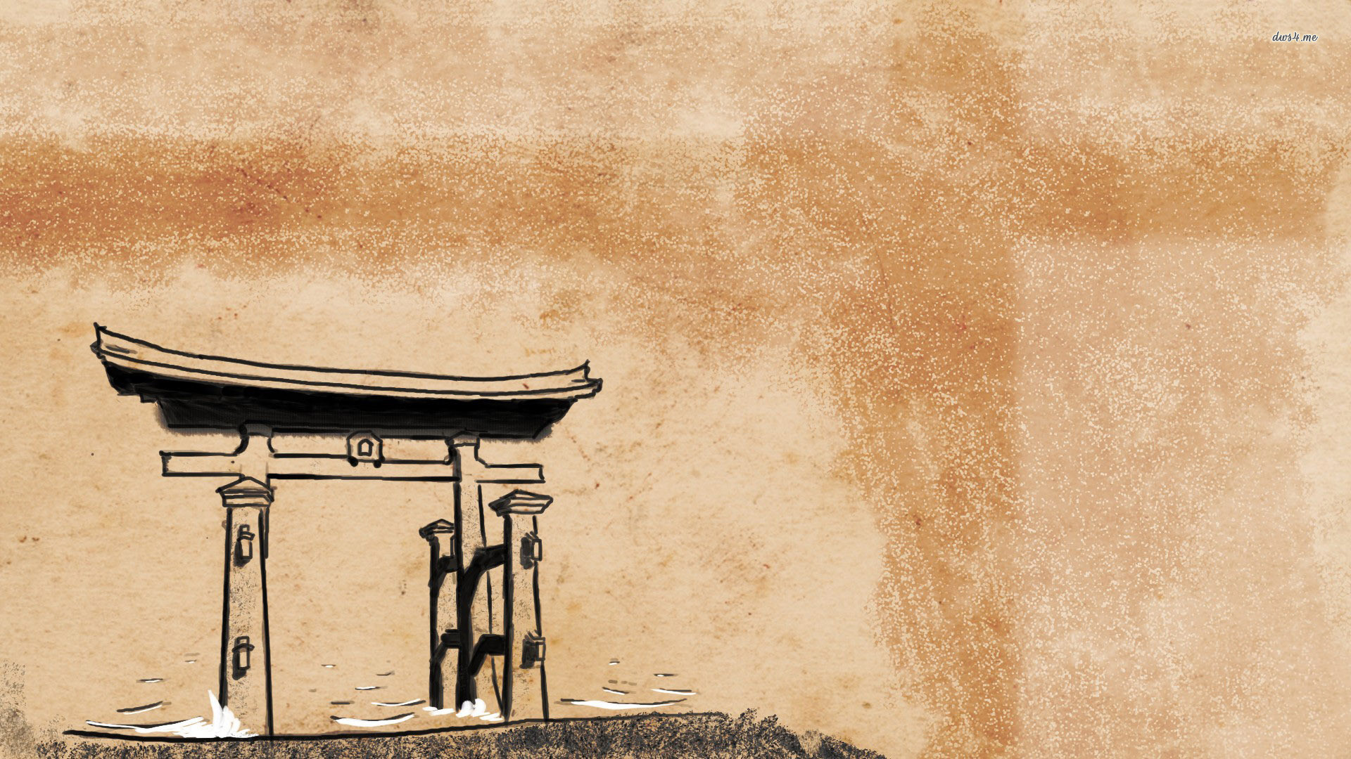 Res: 1920x1080, 2 Japanese Art HD Wallpapers   Backgrounds - Wallpaper Abyss