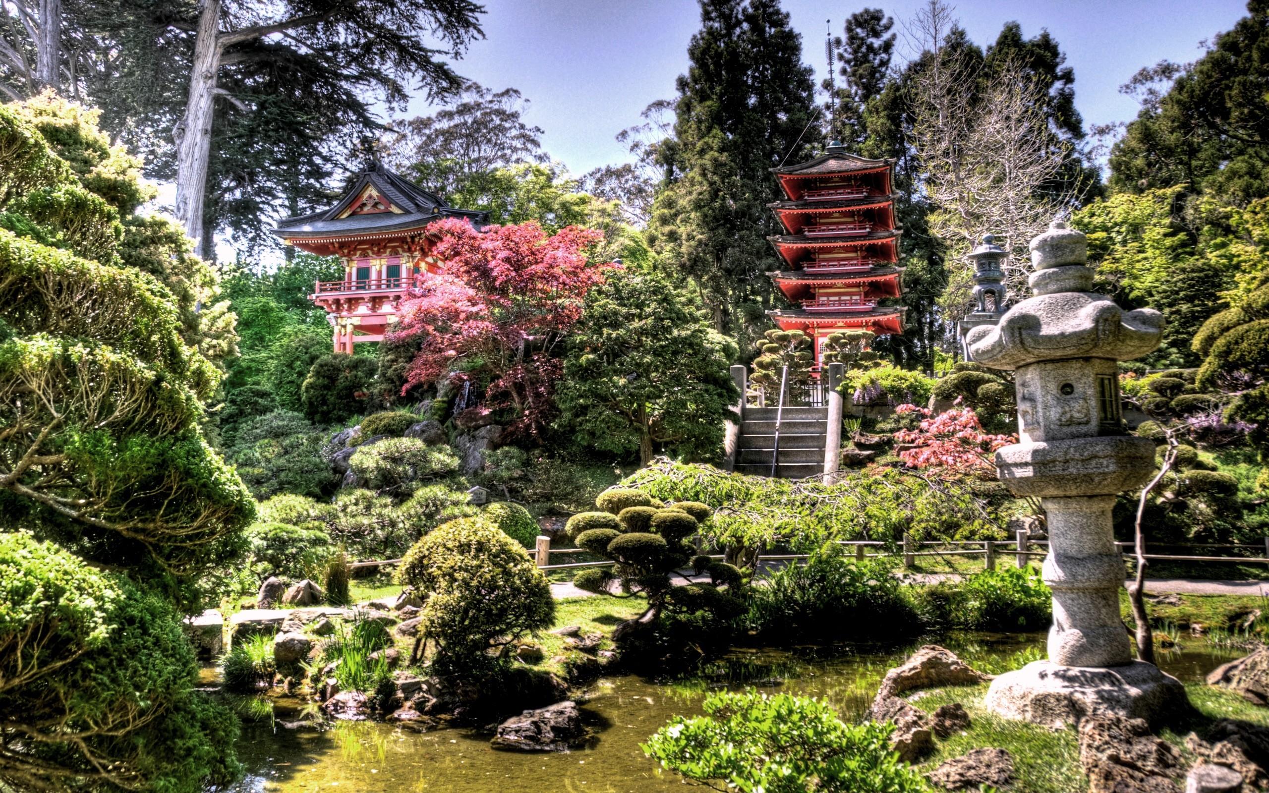 Res: 2560x1600, Japanese Tea Garden desktop wallpaper