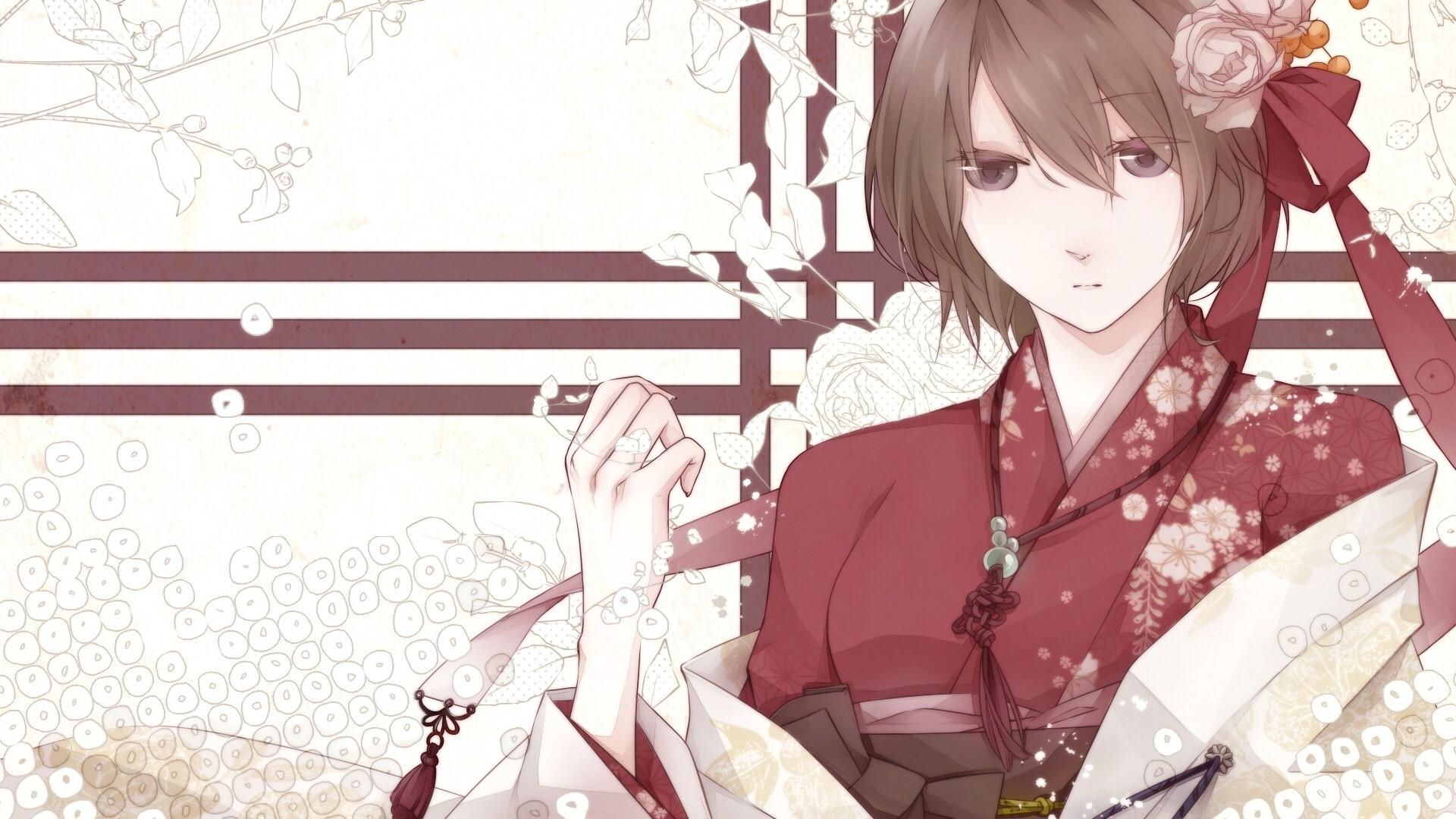 Res: 1920x1080, Download Anime HD Wallpapers Background Image vocaloid yukata meiko anime  japan kimono 88130