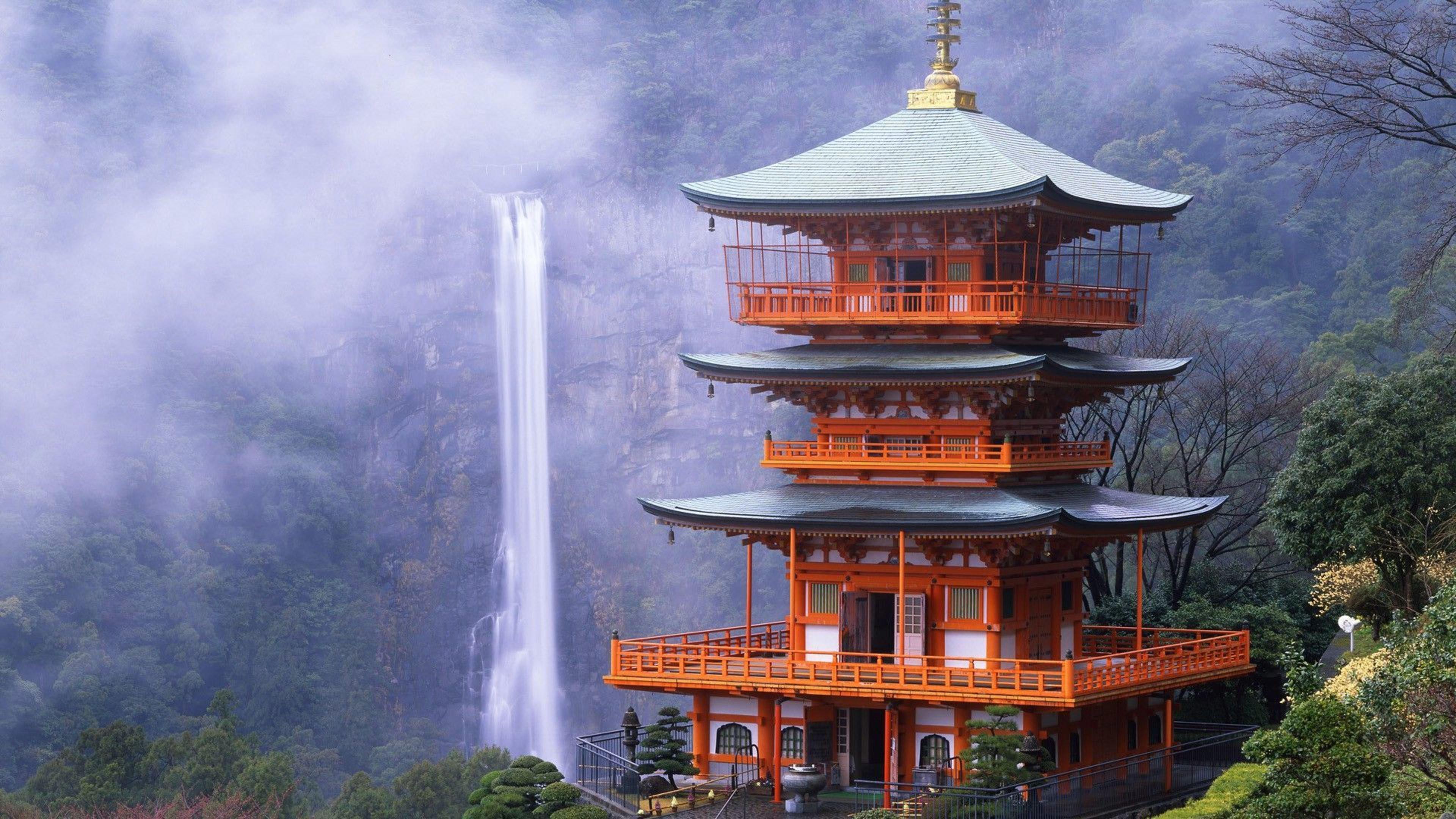 Res: 3840x2160, Japanese Shrine Wallpapers Desktop Background