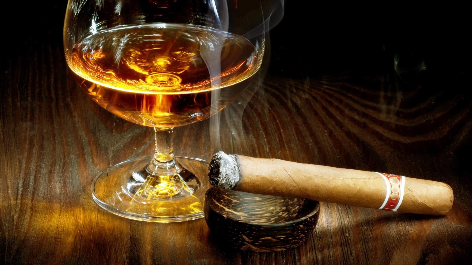 Res: 1920x1080, CIGARS cigarette tobacco bokeh smoke smoking cigar drink alcohol drinks  glass wallpaper |  | 590856 | WallpaperUP