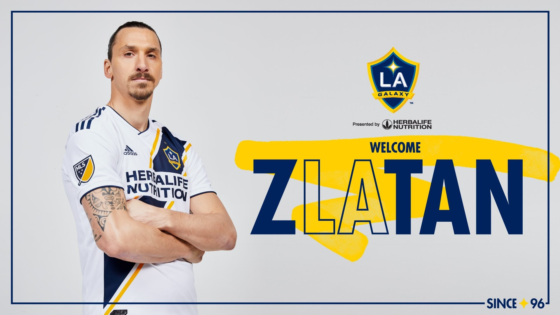 Res: 1920x1080, LA Galaxy Confirm Ibrahimovic Signing, Swedish Star Excited