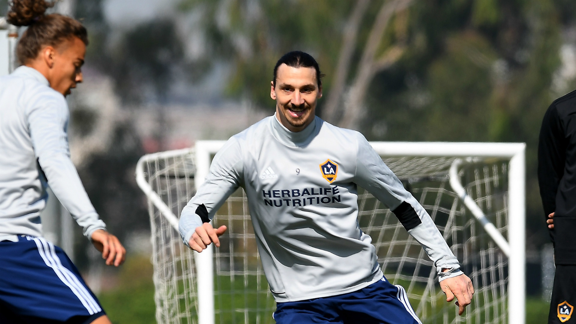 Res: 1920x1080, Zlatan Ibrahimovic Training LA Galaxy MLS 03302018