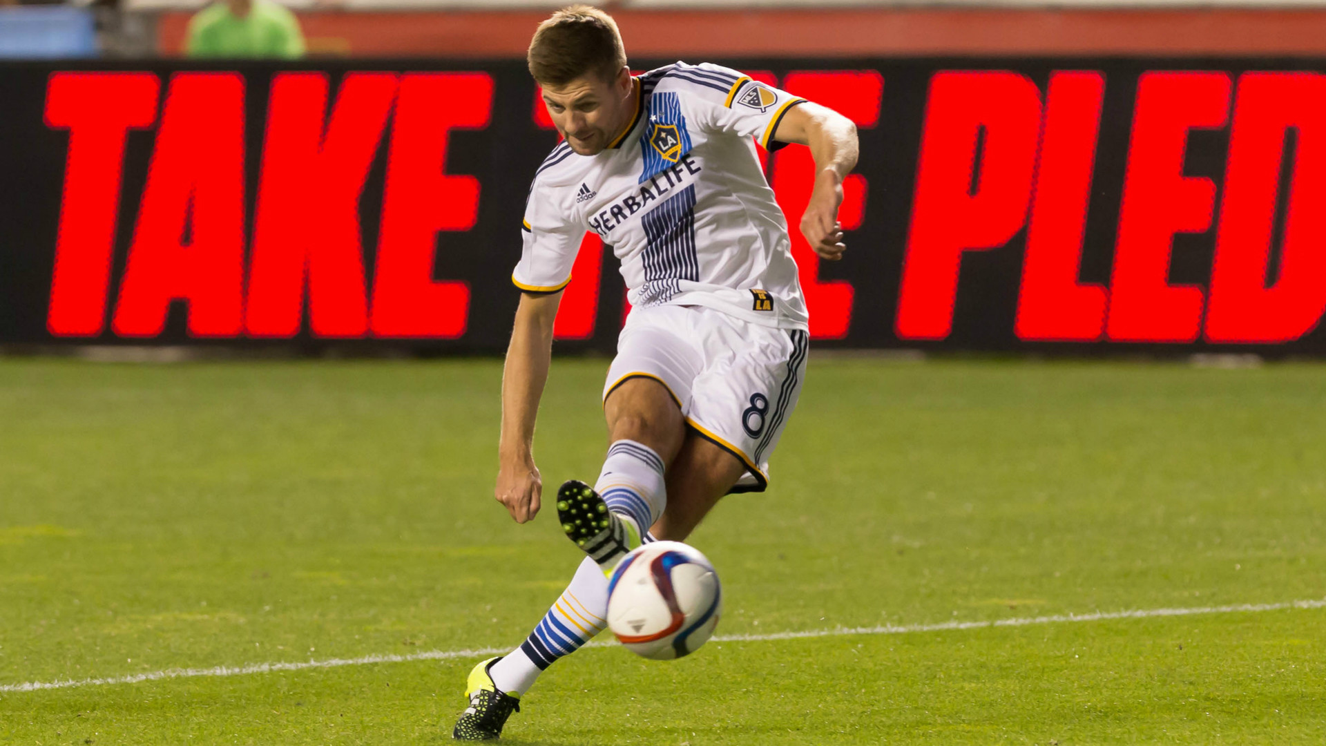 Res: 1920x1080, Gerrard is set to make his MLS debut on Friday when LA Galaxy host San Jose  Earthquakes.