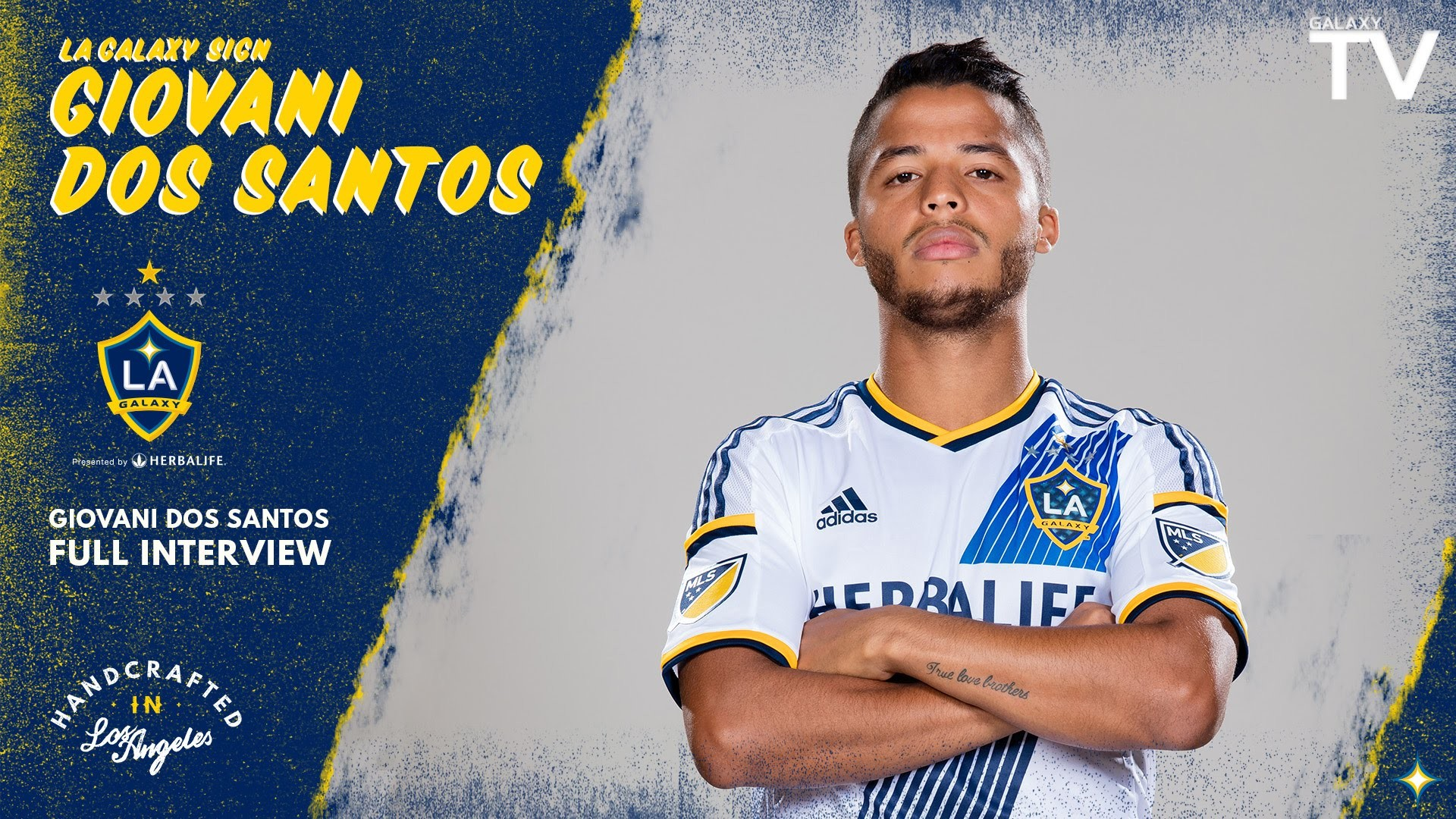 "Res: 1920x1080, FULL INTERVIEW: Giovani dos Santos ""can't wait"" to join the LA Galaxy -  YouTube"