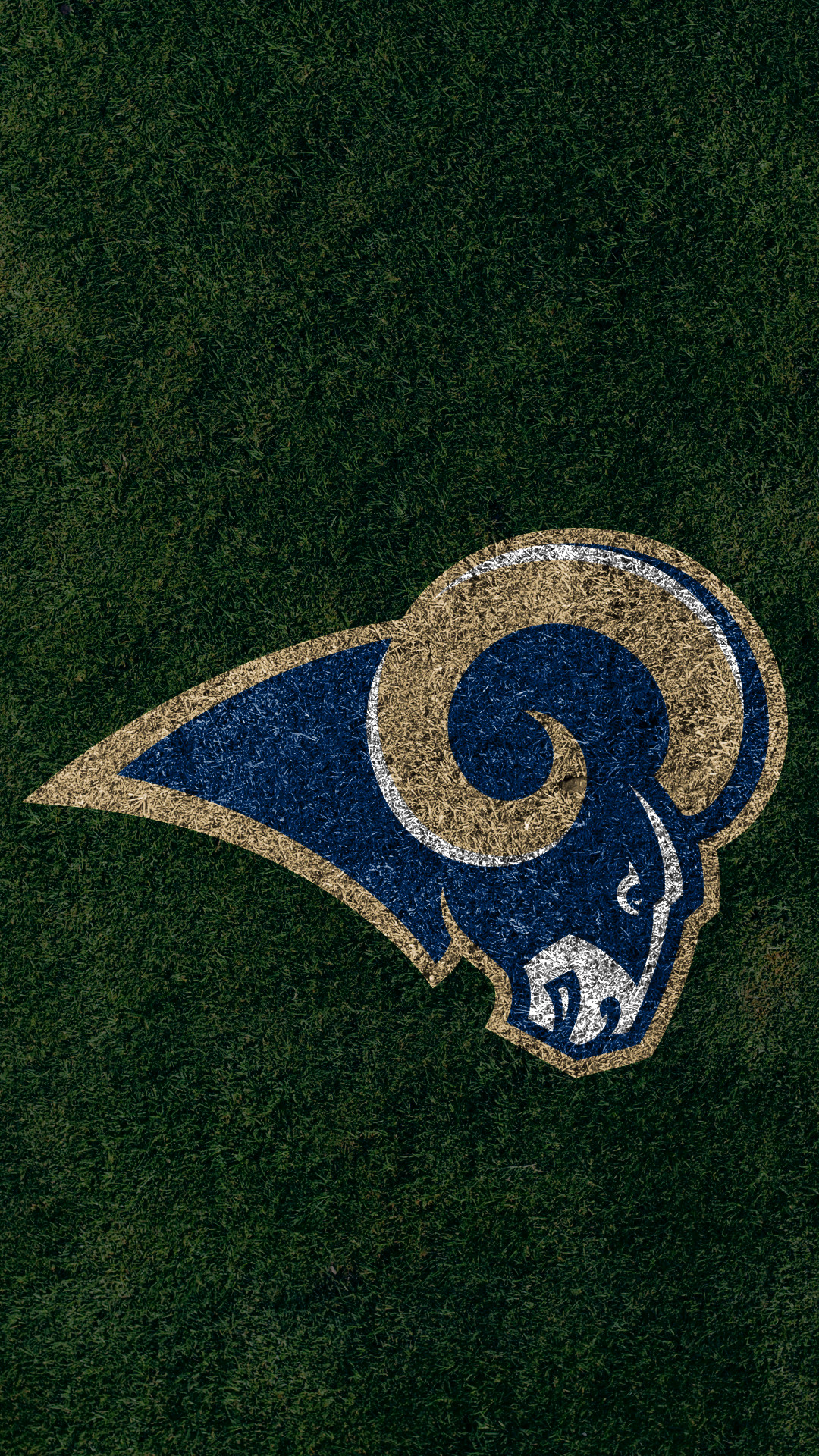 Res: 1080x1920, ... Los Angeles Rams 2017 turf logo wallpaper free iphone 5, 6, 7, galaxy