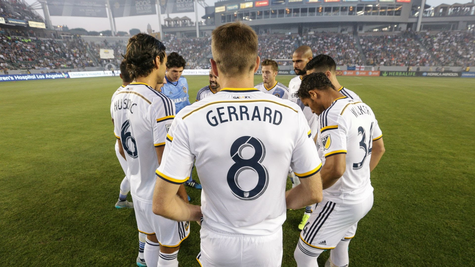 Res: 1920x1080, On this day in 2015: Steven Gerrard made his MLS debut for the LA Galaxy