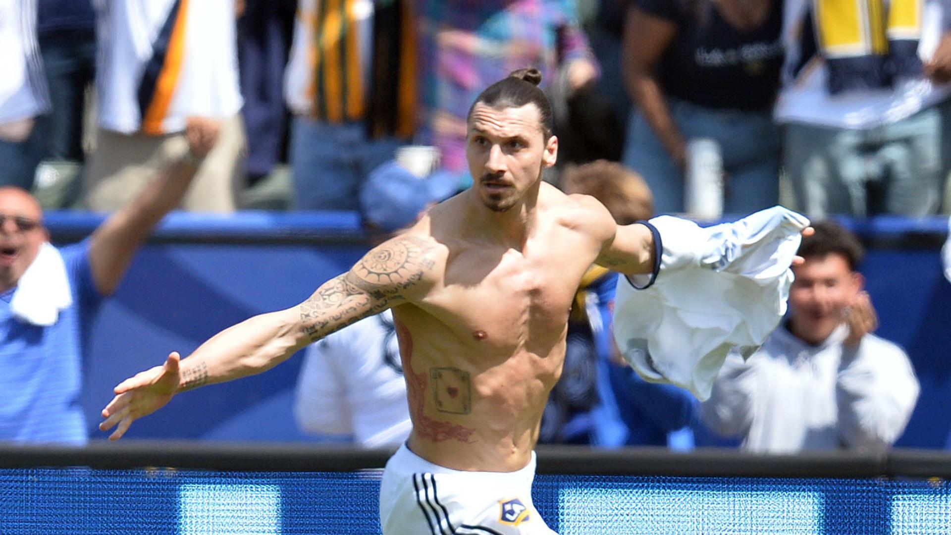 Res: 1920x1080, Zlatan Ibrahimovic MLS LA Galaxy LAFC 03312018