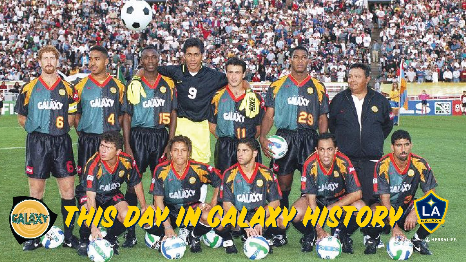 Res: 1920x1080, HIGHLIGHTS: LA Galaxy vs. MetroStars | April 13, 1996 | On This Day in LA  Galaxy History