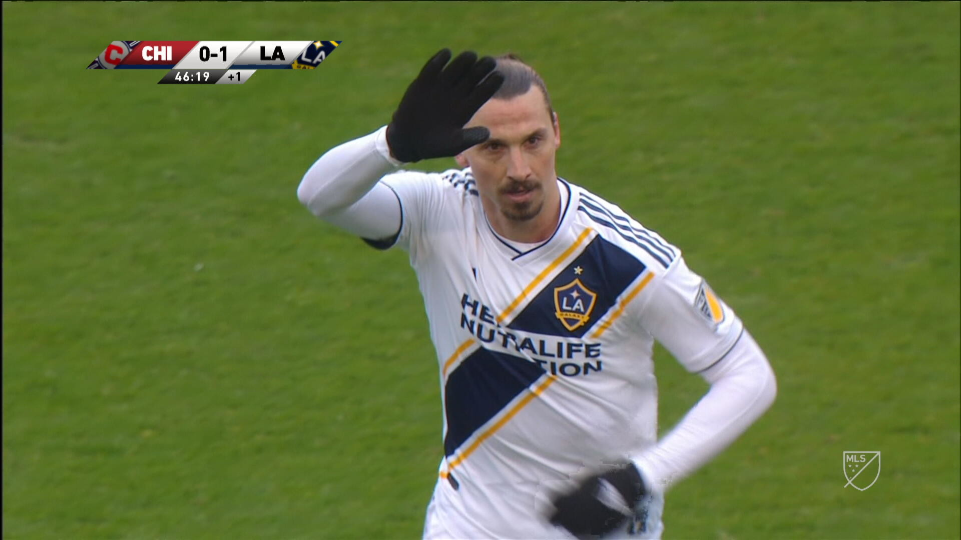 Res: 1920x1080, WATCH: Zlatan Ibrahimovic scores on first LA Galaxy start