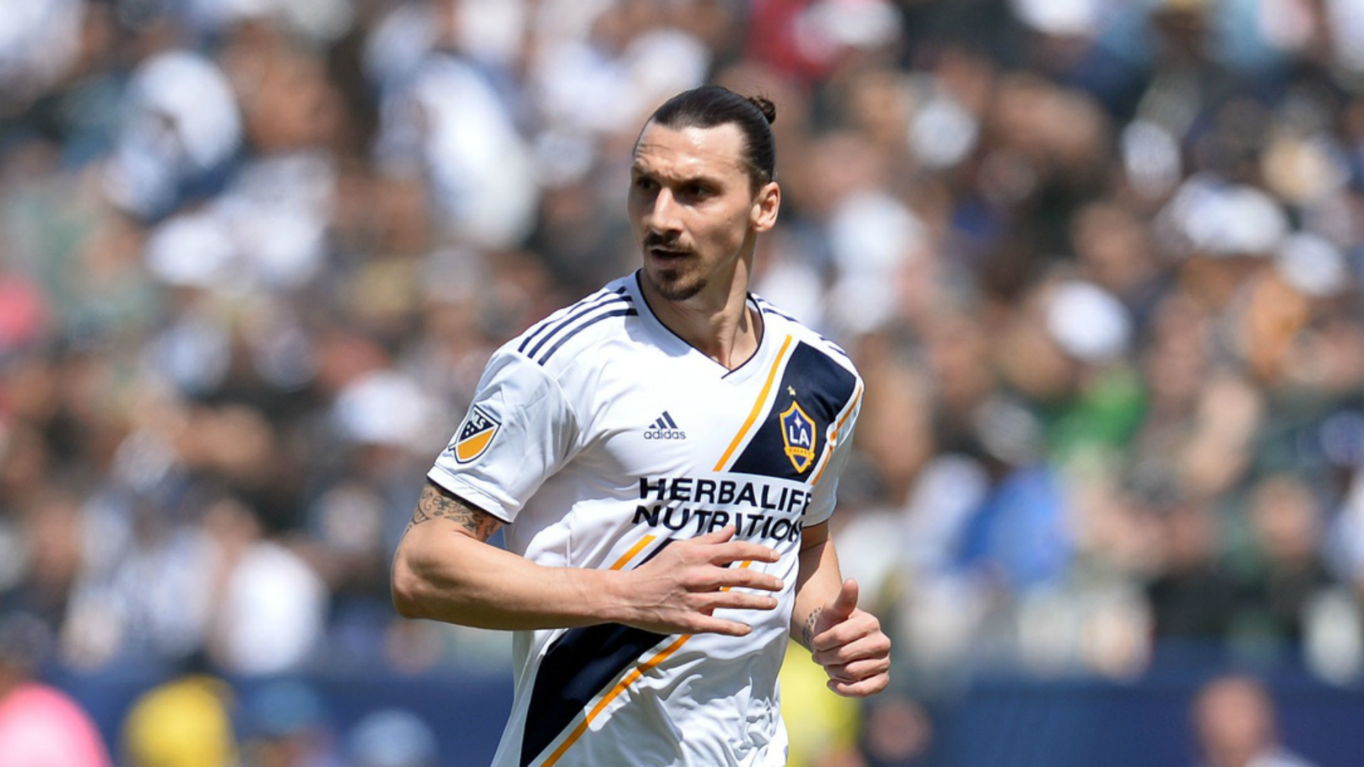 Res: 1920x1080, Zlatan Ibrahimovic MLS 2 LA Galaxy 03312018