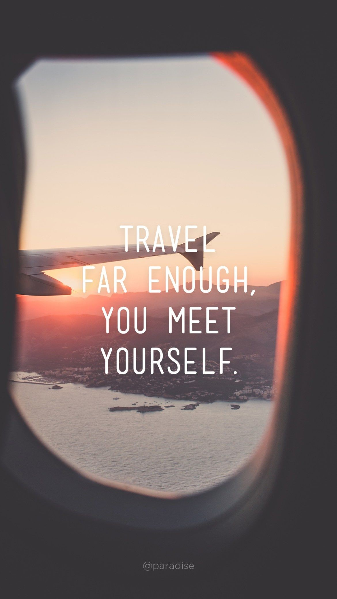 Res: 1170x2080, 15 Beautiful iPhone Wallpapers with Travel Quotes | Via Paradise