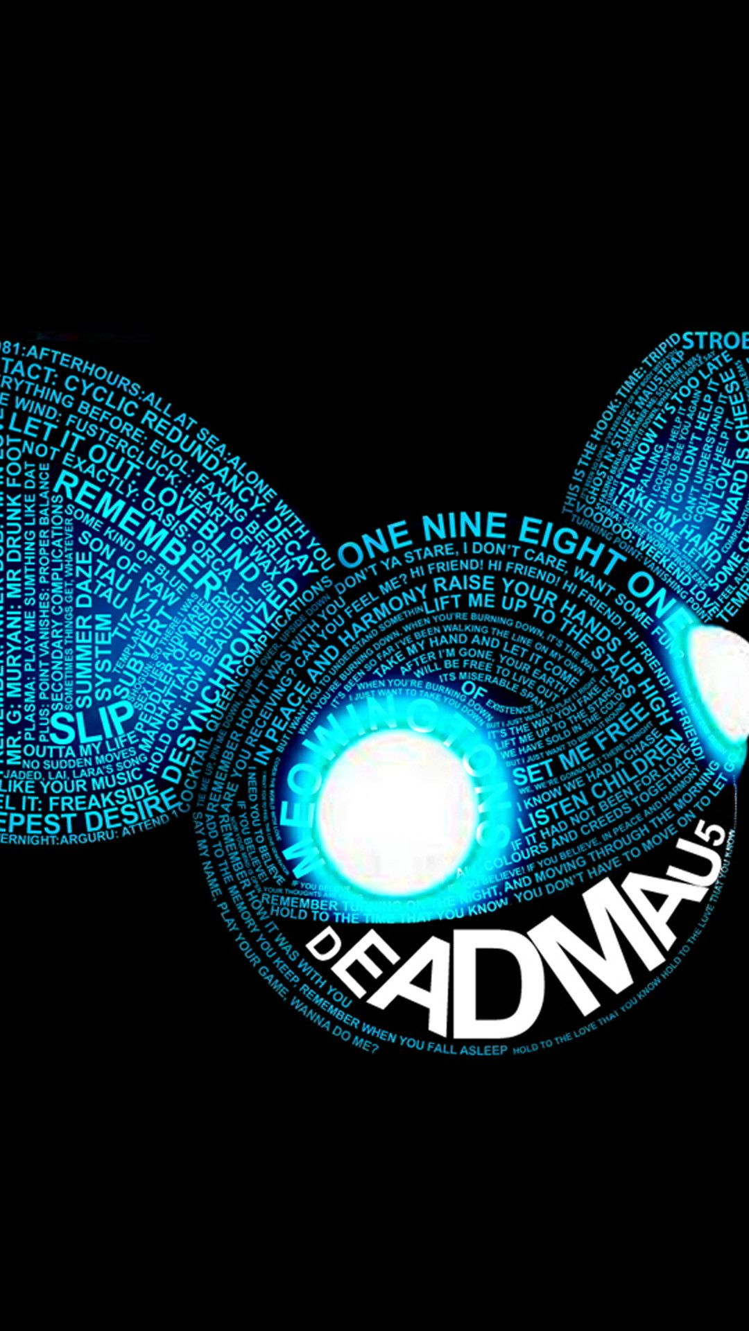 Res: 1080x1920, Deadmau5 quotes HD Wallpaper iPhone 6 plus.