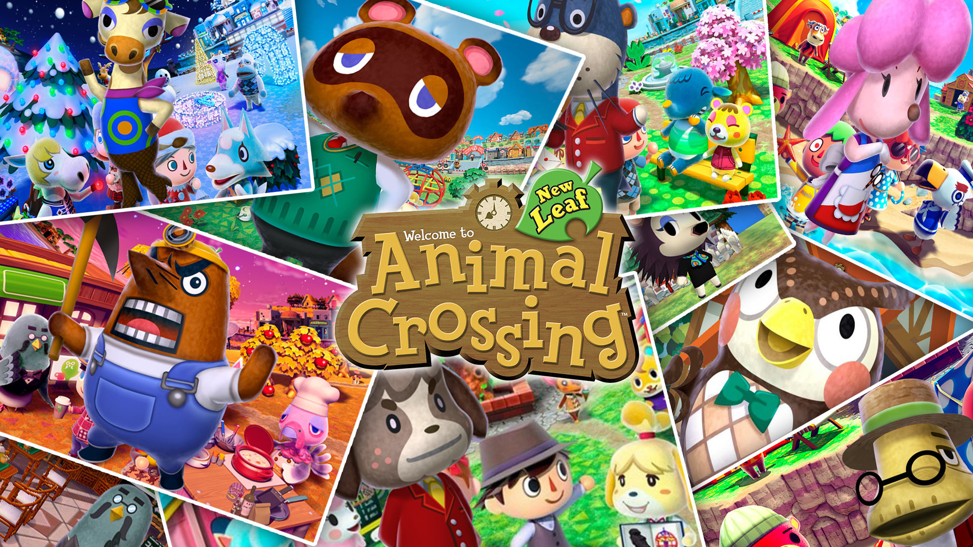 Res: 1920x1080, 4 Animal Crossing: New Leaf HD Wallpapers | Hintergründe - Wallpaper Abyss