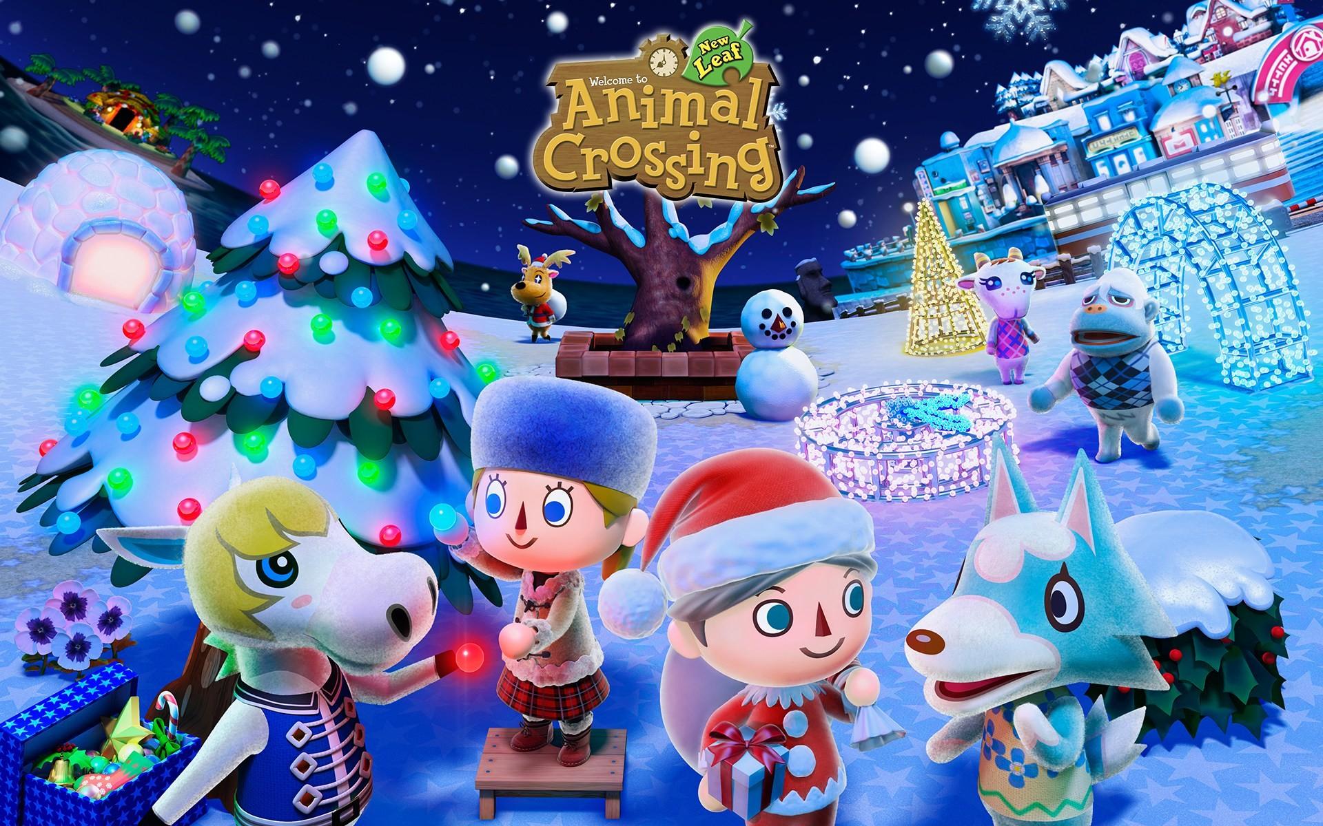 Res: 1920x1200, *Sponsored Video* Winterzeit in Animal Crossing: New Leaf – Das erwartet  euch!
