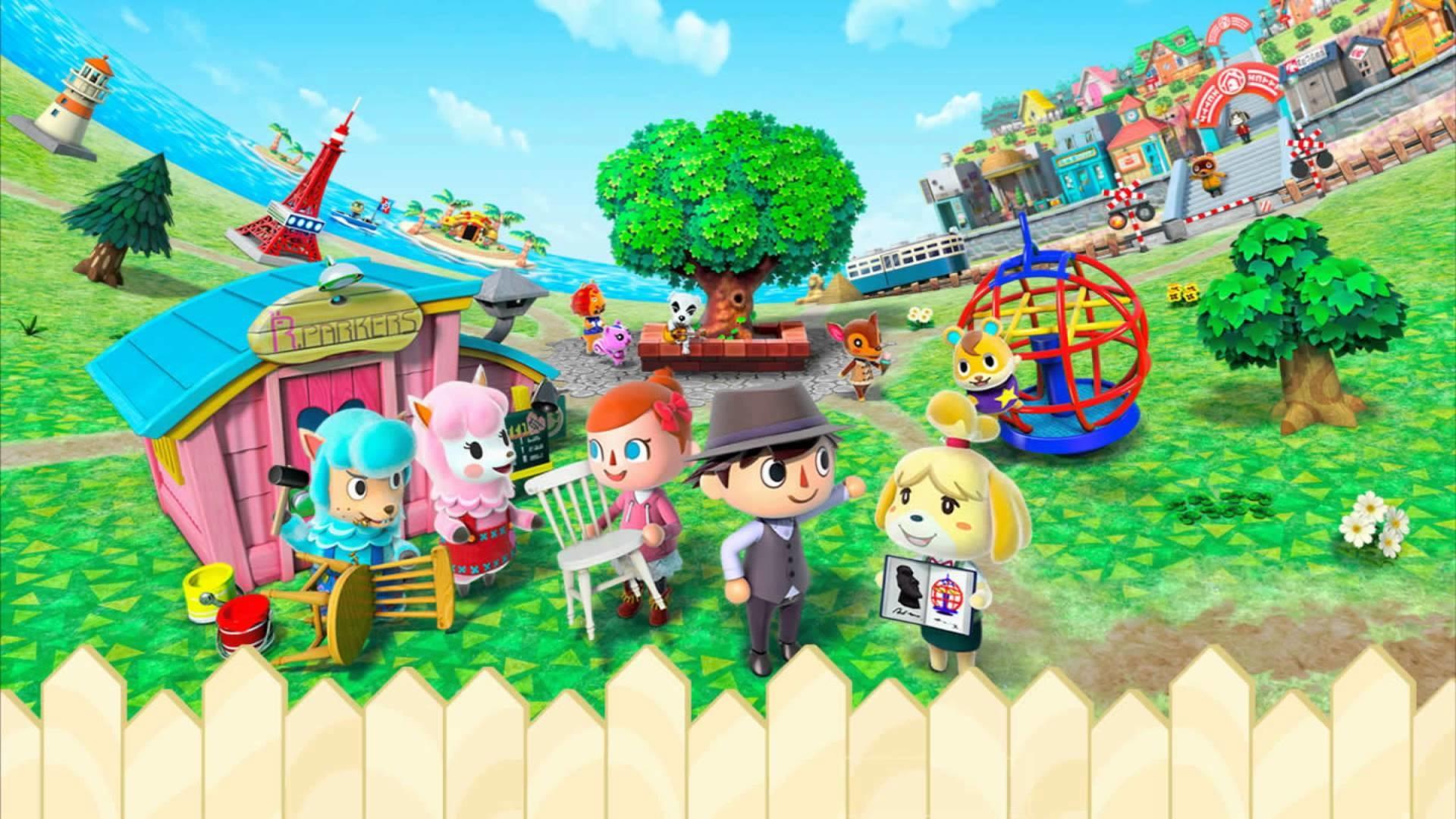 Res: 1920x1080, Computerspiele - Animal Crossing: New Leaf Wallpaper