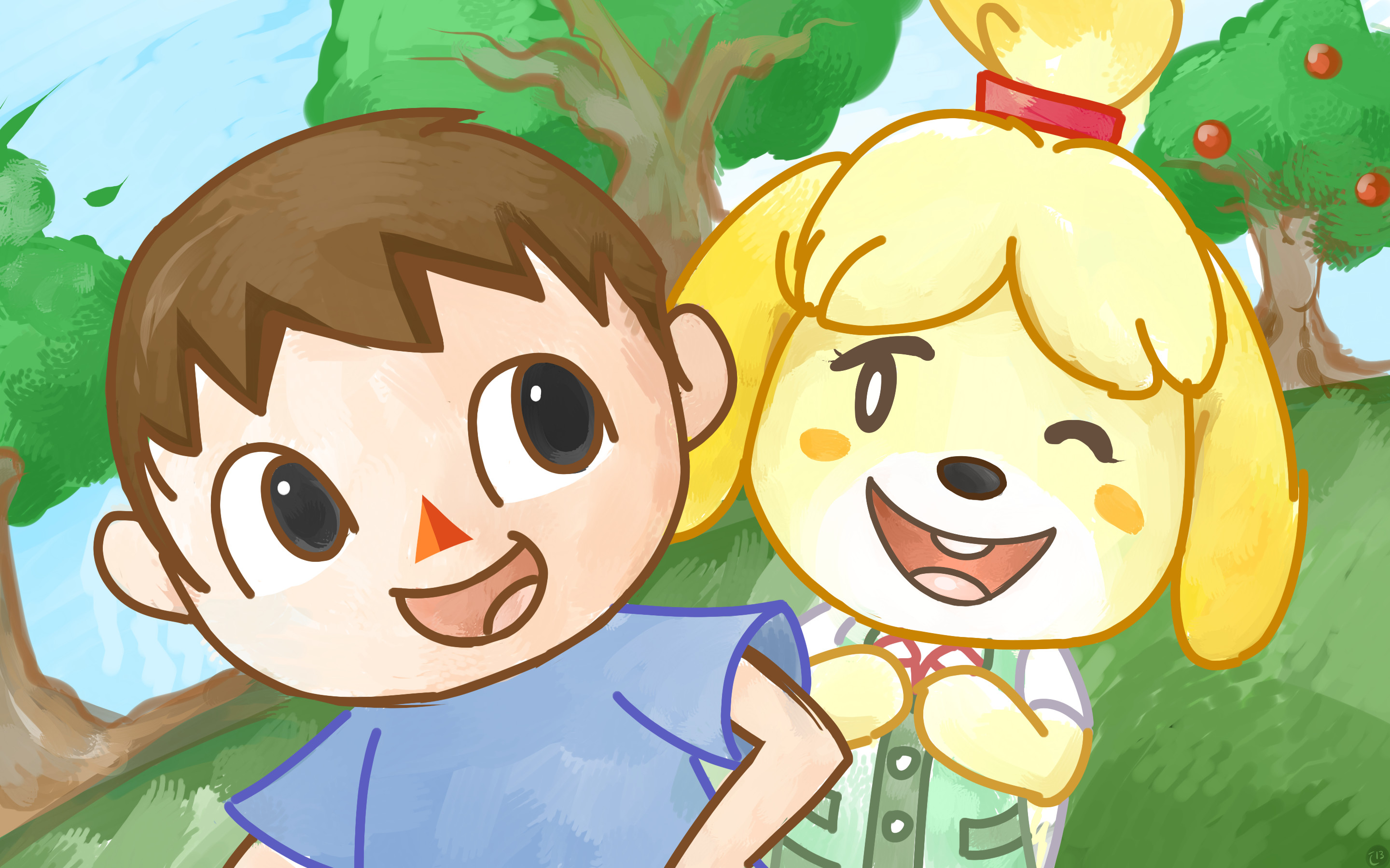 Res: 2880x1800, Isabelle (Animal Crossing) images 9c0b45aee3c052ce0cbab3424ae47512 d69tvuk  HD wallpaper and background photos