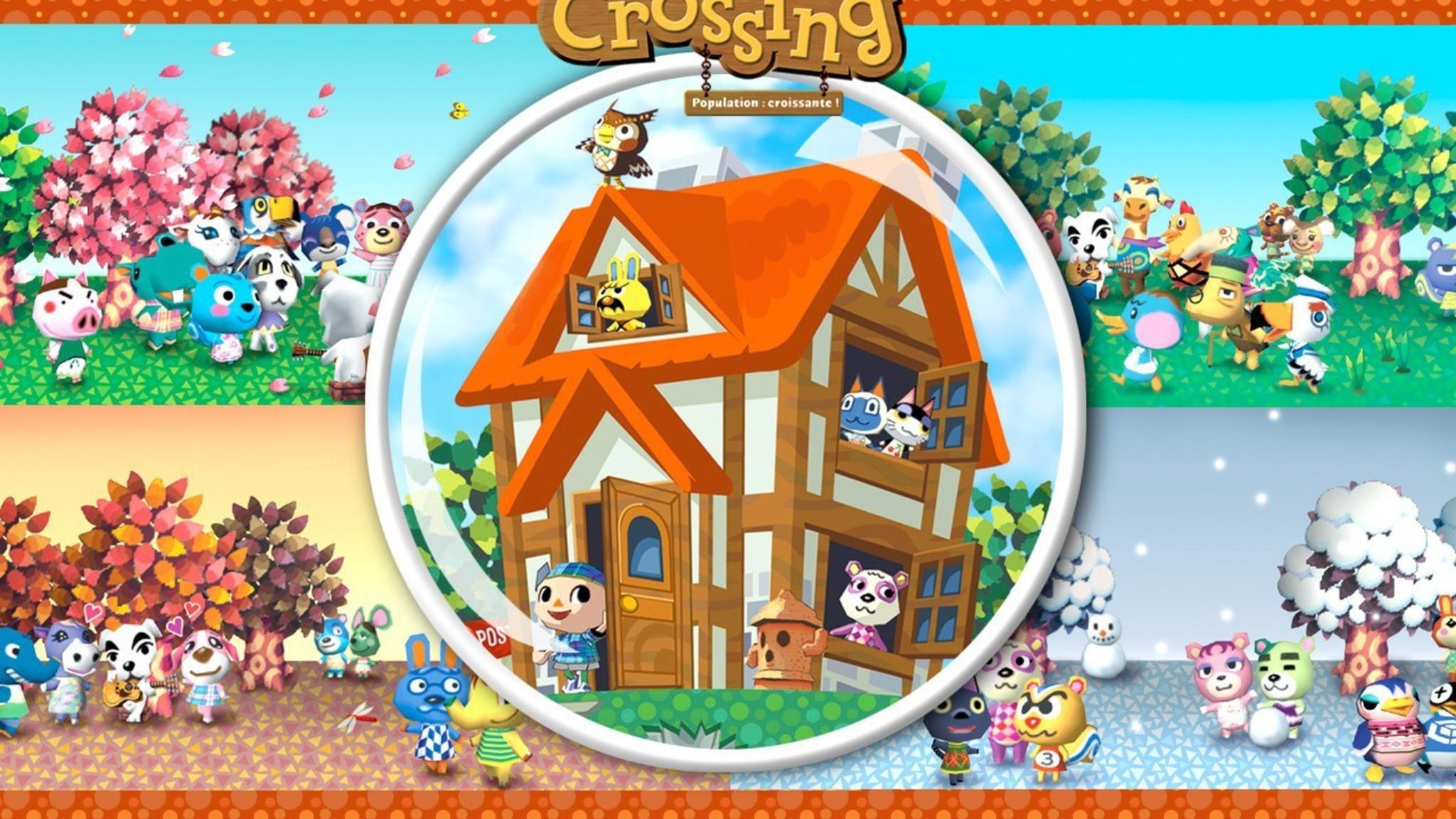 Res: 2048x1152, animal crossing gamecube wallpaper