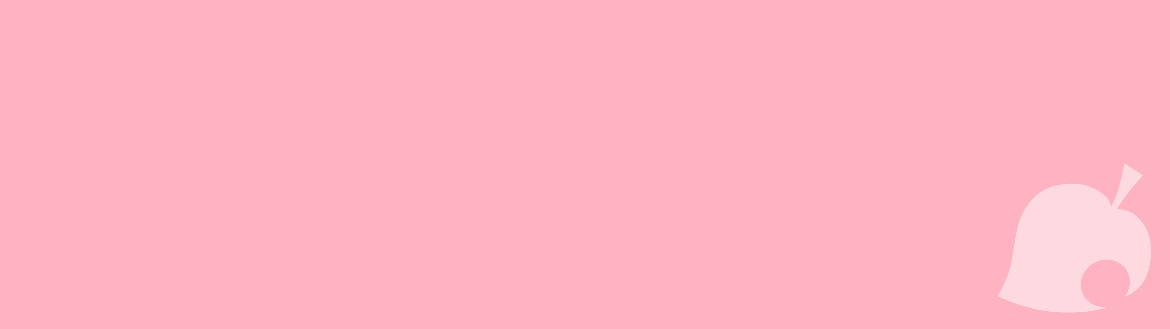 Res: 3840x1080, animal crossing new leaf animal crossing new leaf logo minimalism pink  light pink dual monitors wallpaper and background