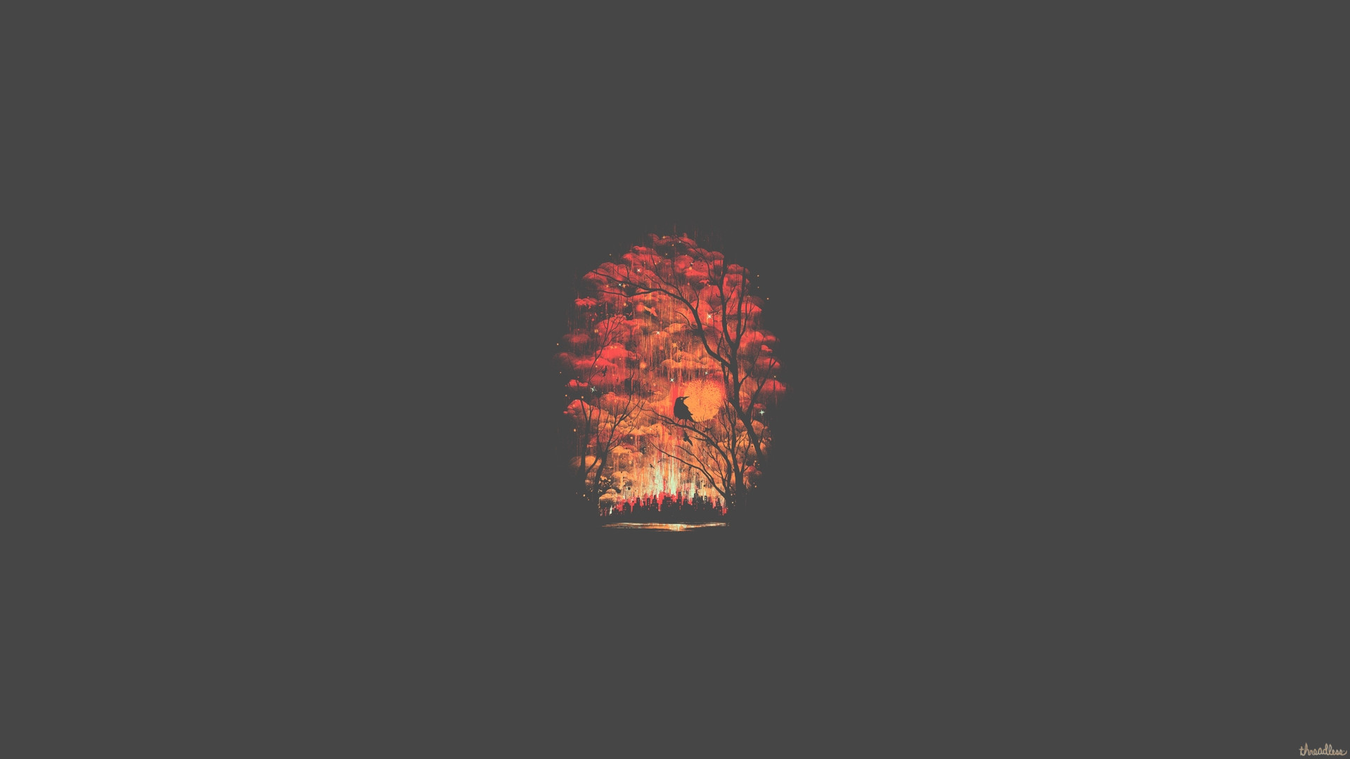 Res: 1920x1080, Forest Minimalist