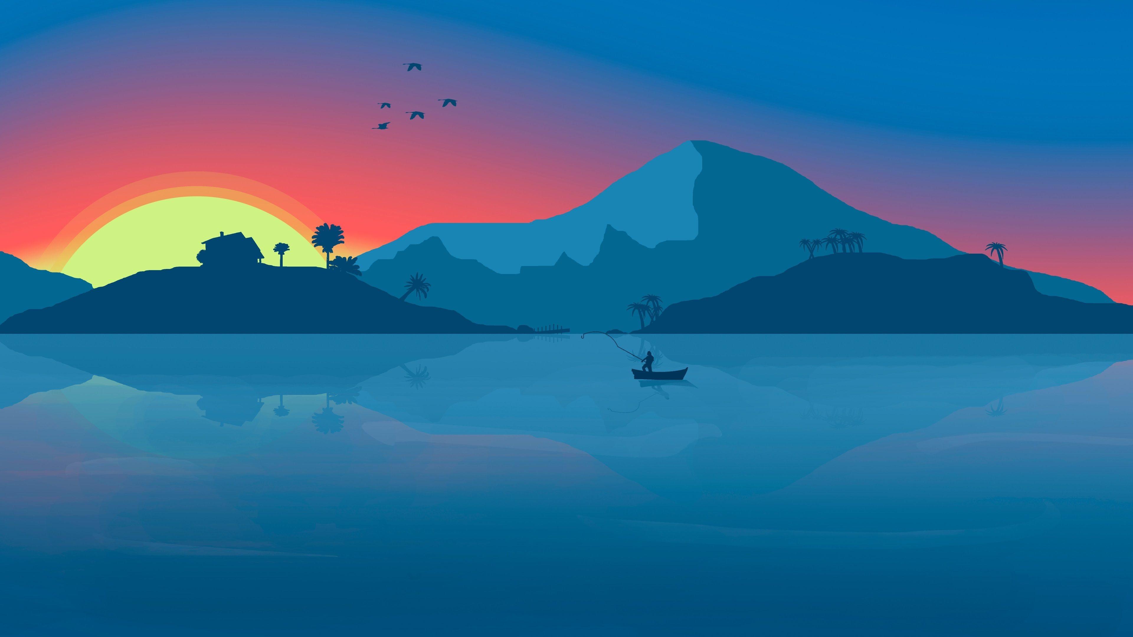 Res: 3840x2160, Minimalistic Wallpaper HD 4K | Free New HD Wallpapers | Pinterest |  Wallpaper