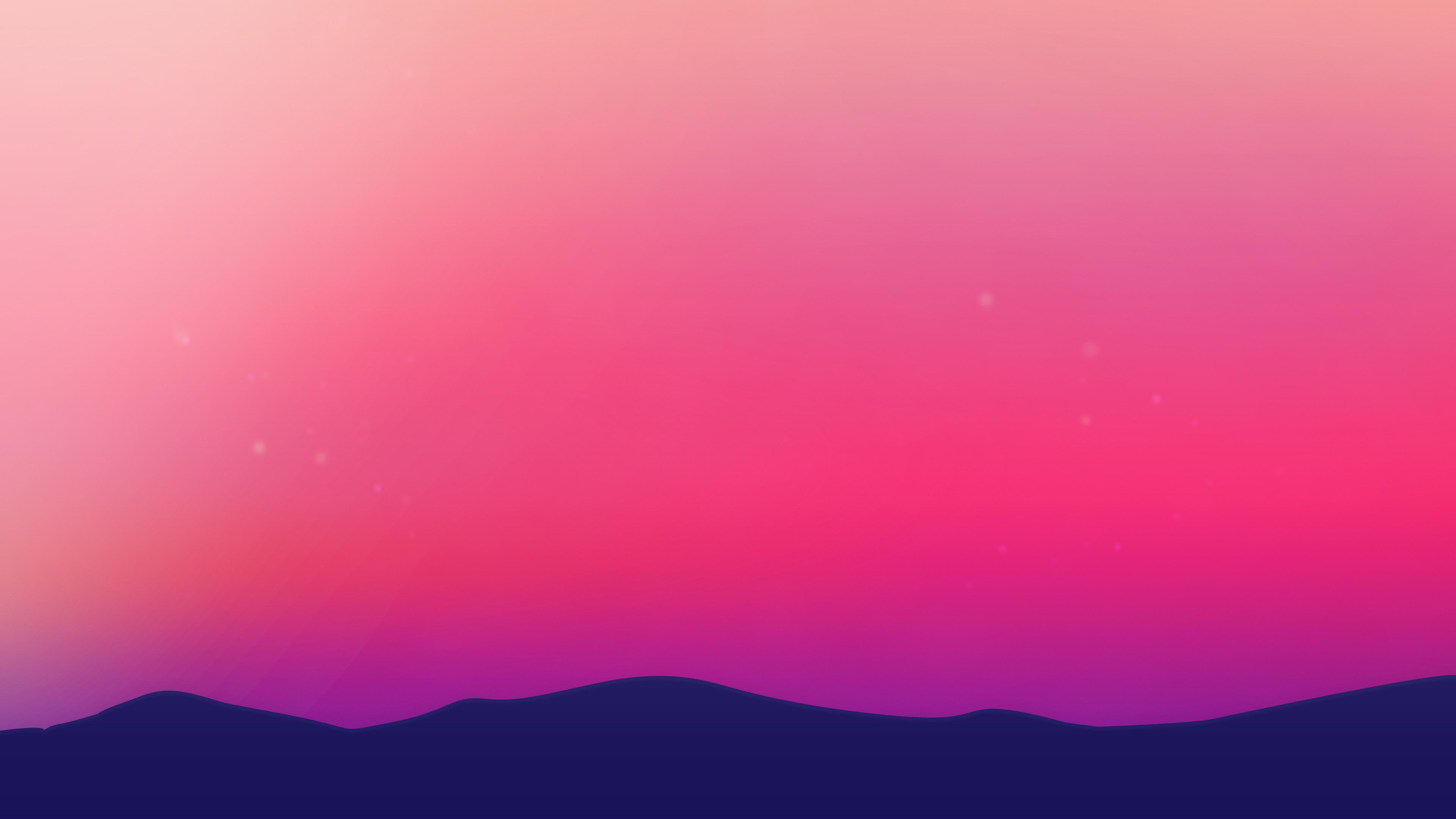 Res: 3840x2160, scenery wallpaper minimalist