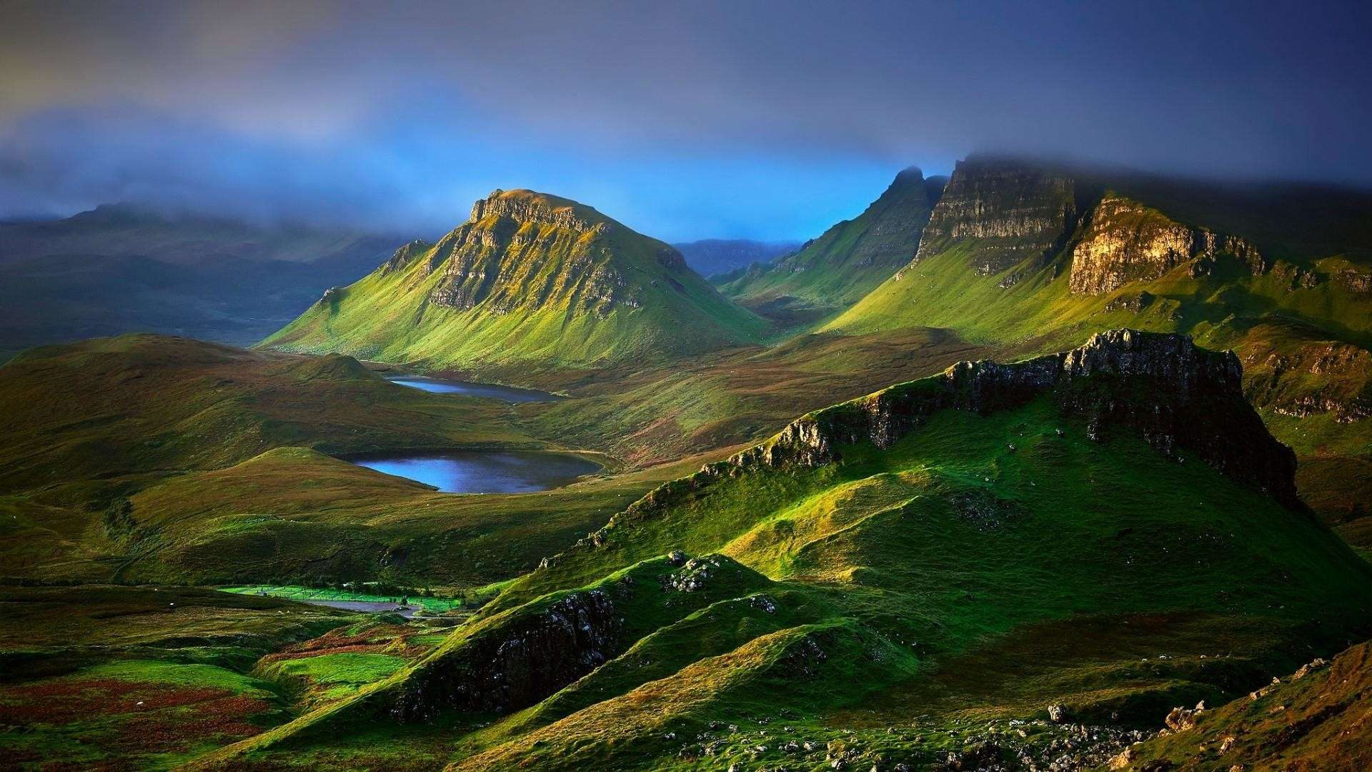 Res: 1920x1080, Isle Of Skye, Scotland Wallpaper | Wallpaper Studio 10 | Tens of thousands  HD and UltraHD wallpapers for Android, Windows and Xbox