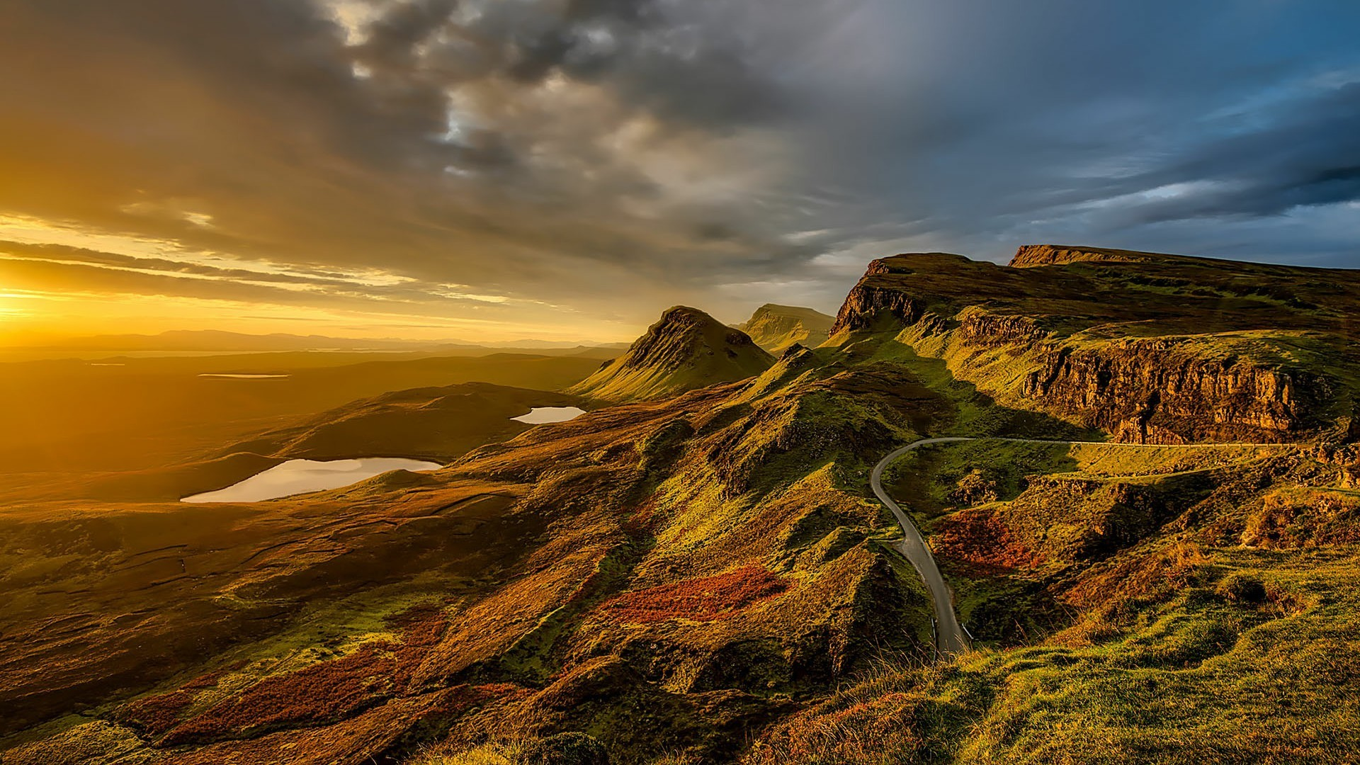 Res: 1920x1080, Isle Of Skye - Scottish Highlands Landscape Wallpaper | Wallpaper Studio 10  | Tens of thousands HD and UltraHD wallpapers for Android, Windows and Xbox