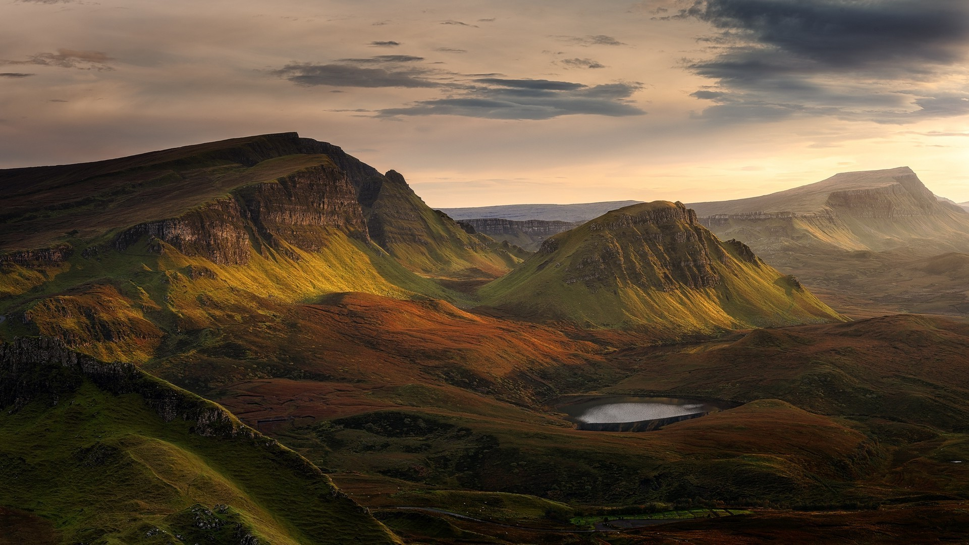 Res: 1920x1080, landscape, Scotland, Mountain Wallpapers HD / Desktop and Mobile .