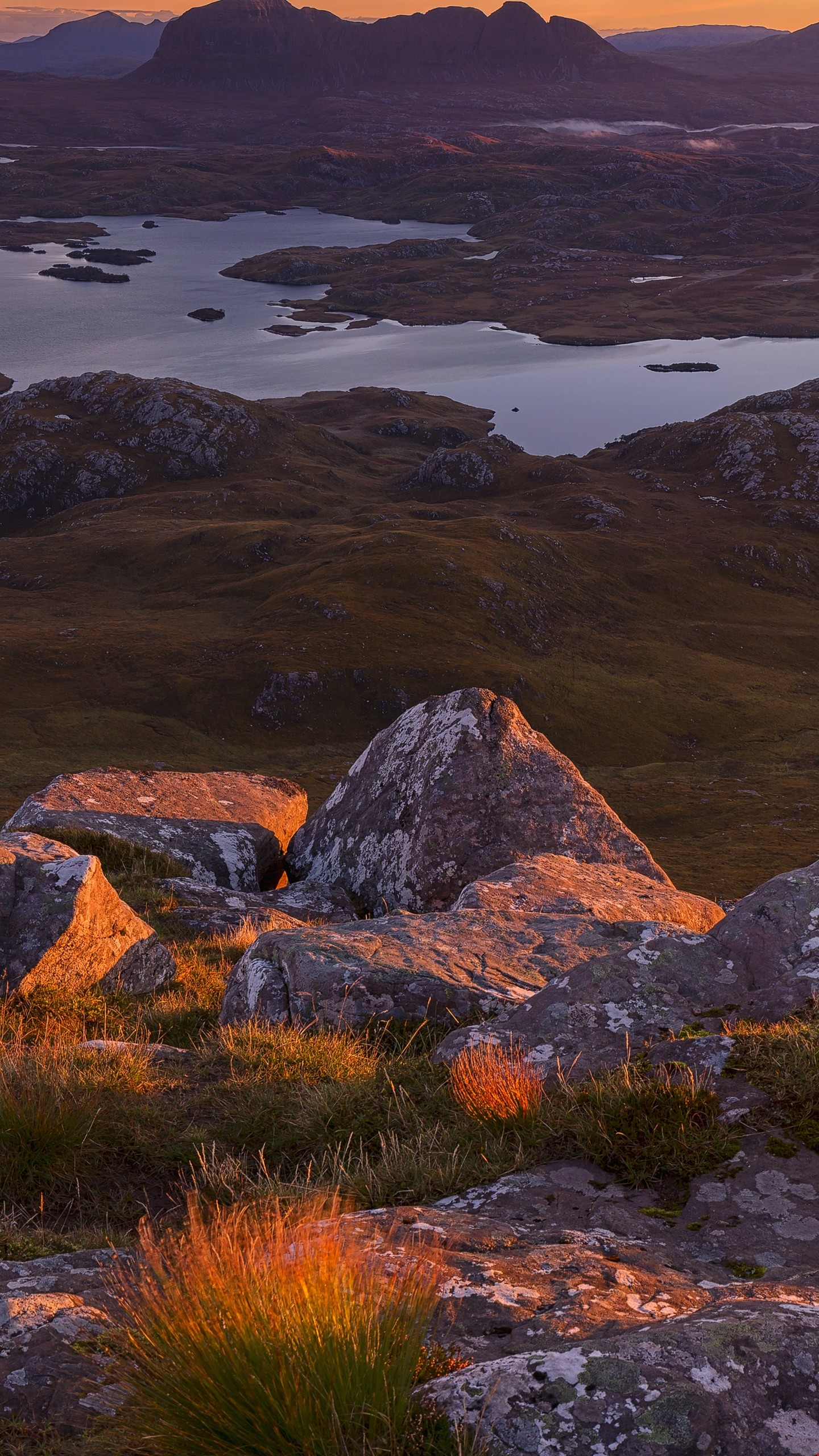 Res: 1440x2560, Download 10k Northwest Highlands, Scotland - Mountains Wallpapers HD