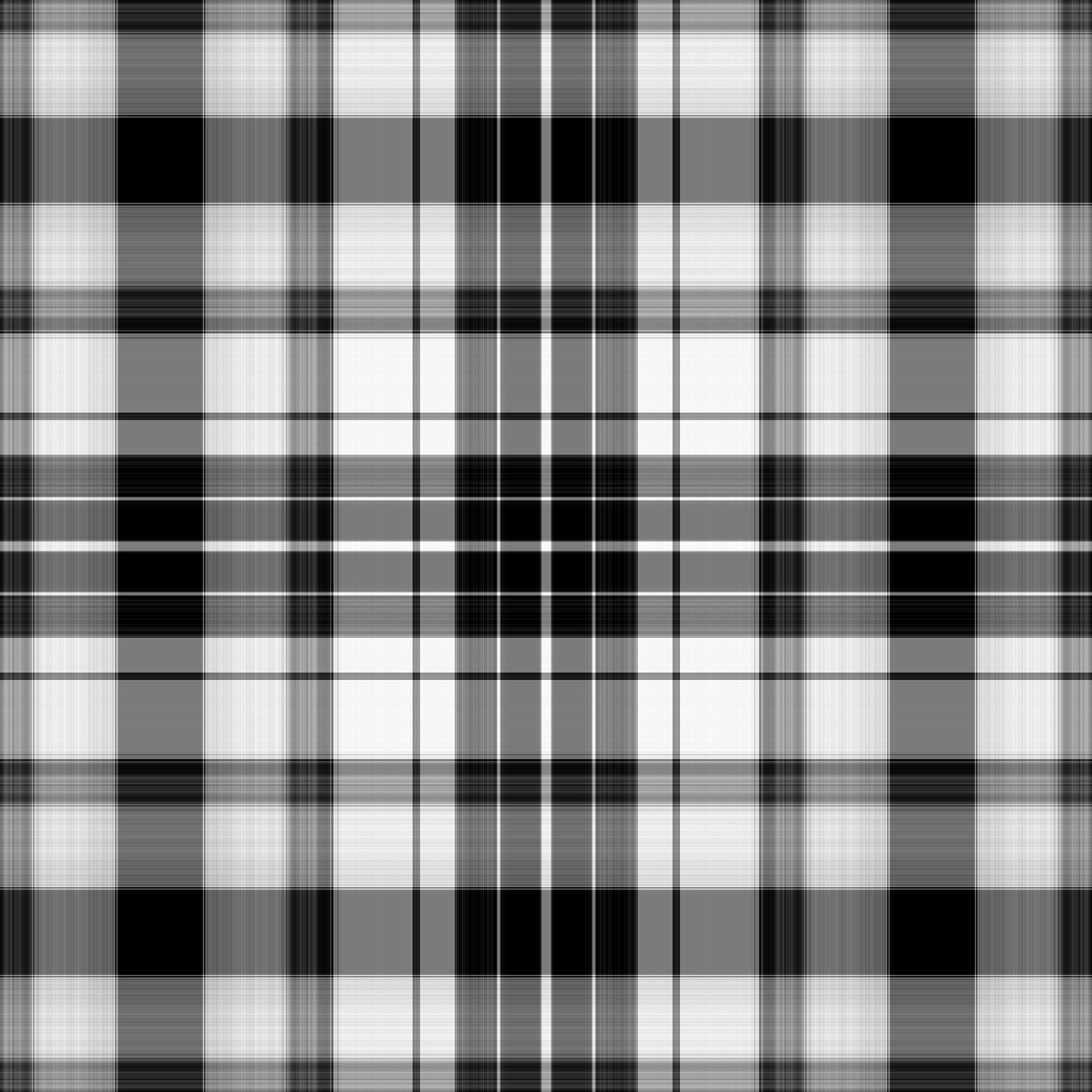 Res: 2000x2000, black and white plaid texture