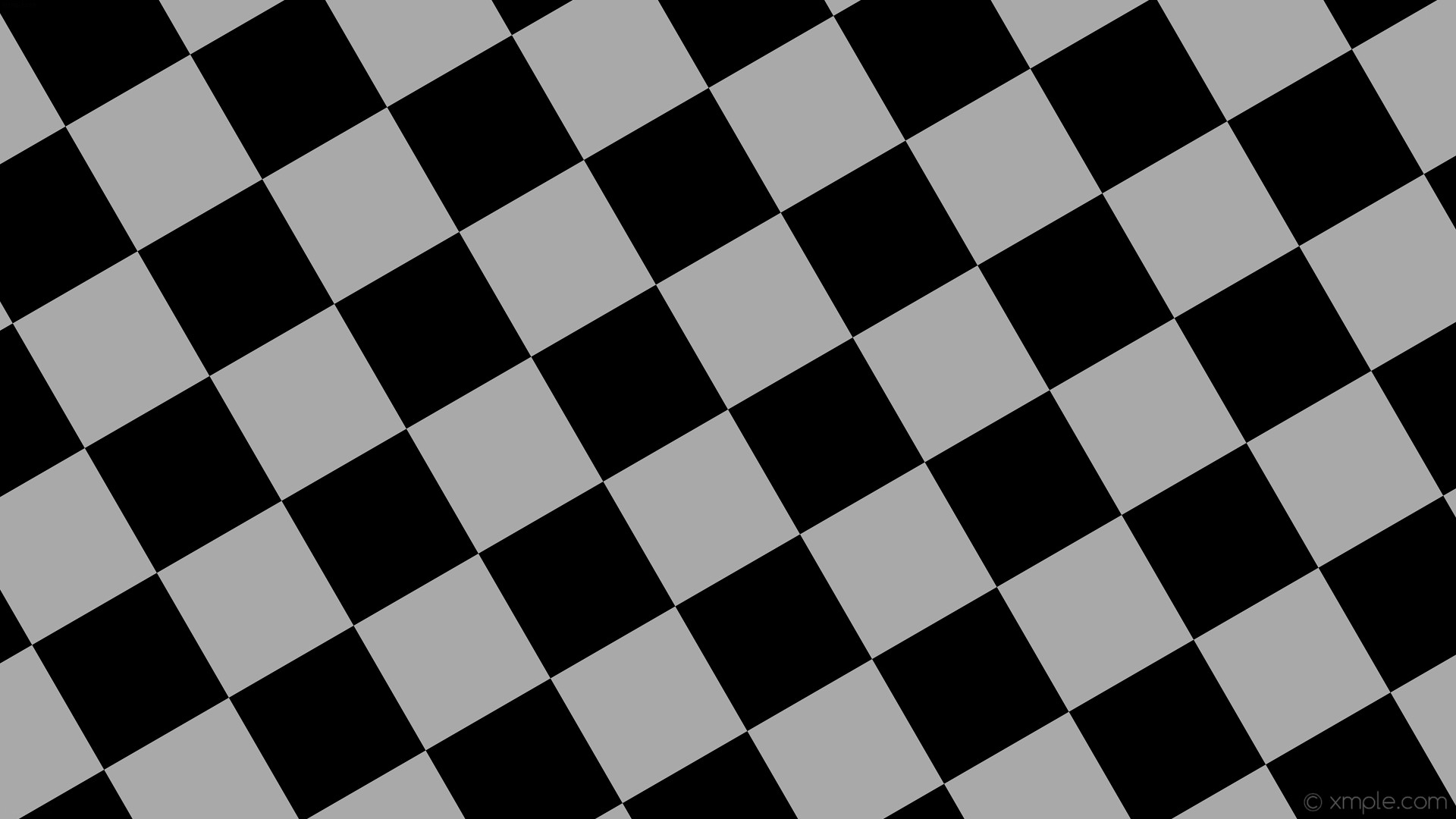 Res: 1920x1080, wallpaper black grey checkered squares dark gray #000000 #a9a9a9 diagonal  30° 190px