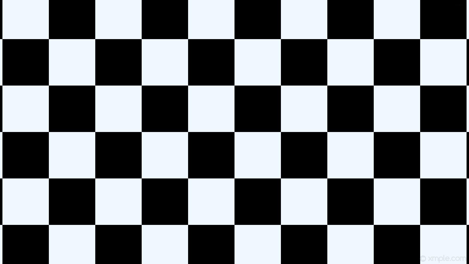 Res: 1920x1080, wallpaper checkered white squares black alice blue #f0f8ff #000000 diagonal  0° 190px