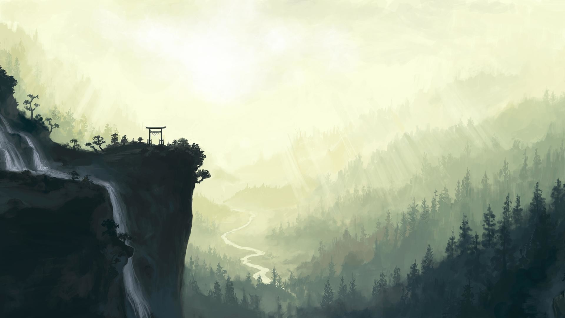 Res: 1920x1080, HD Japanese Scenery Wallpaper