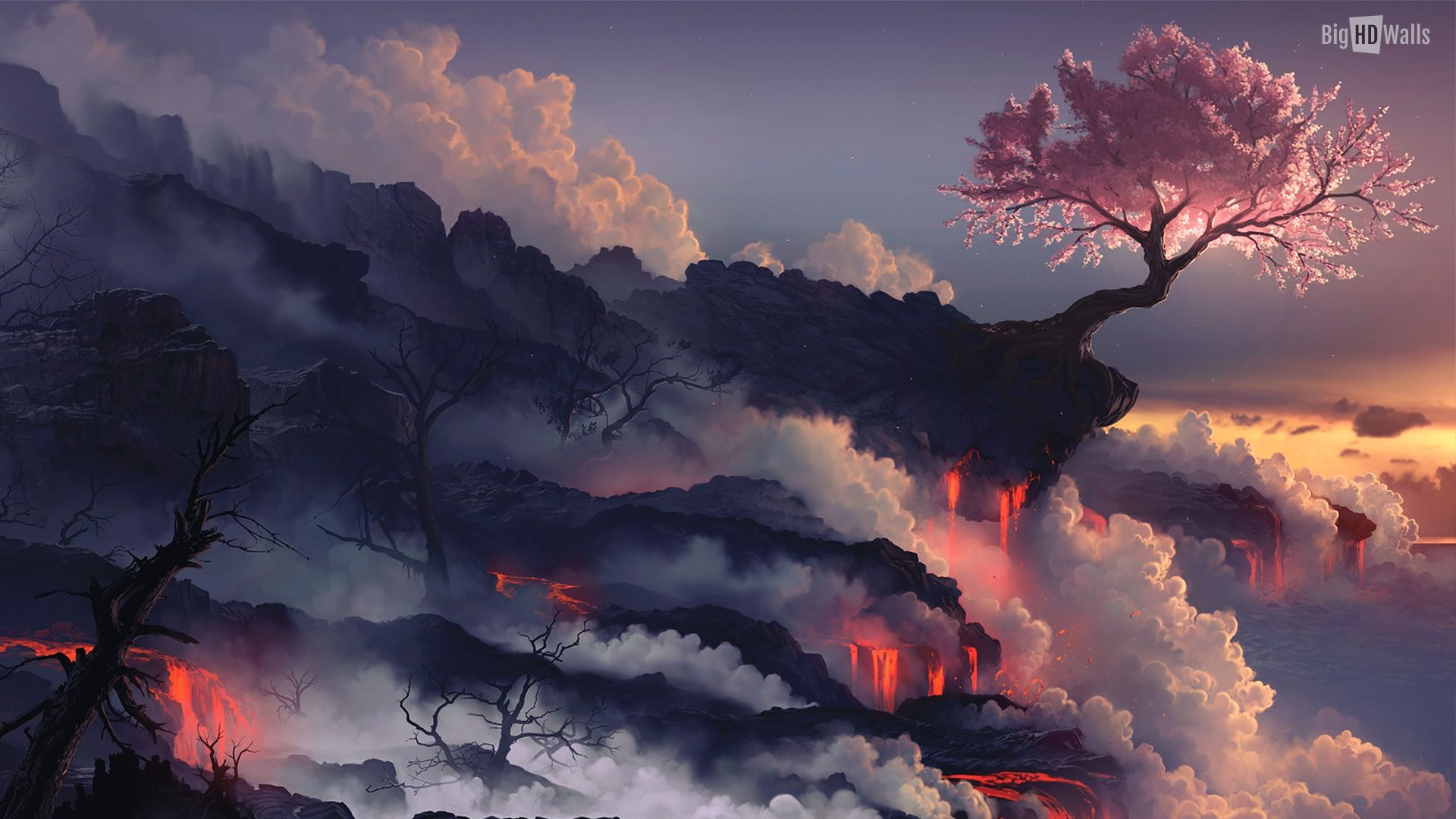 Res: 1920x1080, japan-fuji-tree-Hd-Wall011