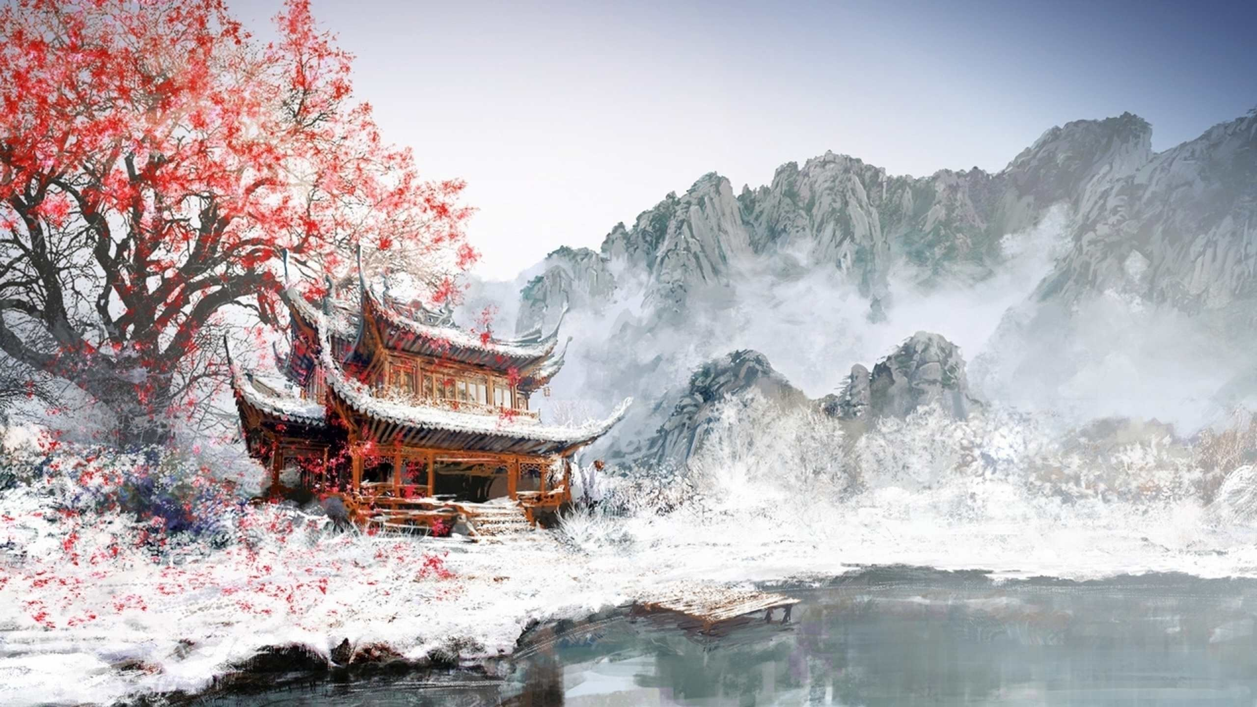 Res: 2560x1440, tomoyea91698 images japanese wallpaper of japanese art 20 HD .
