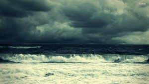Stormy Beach wallpapers