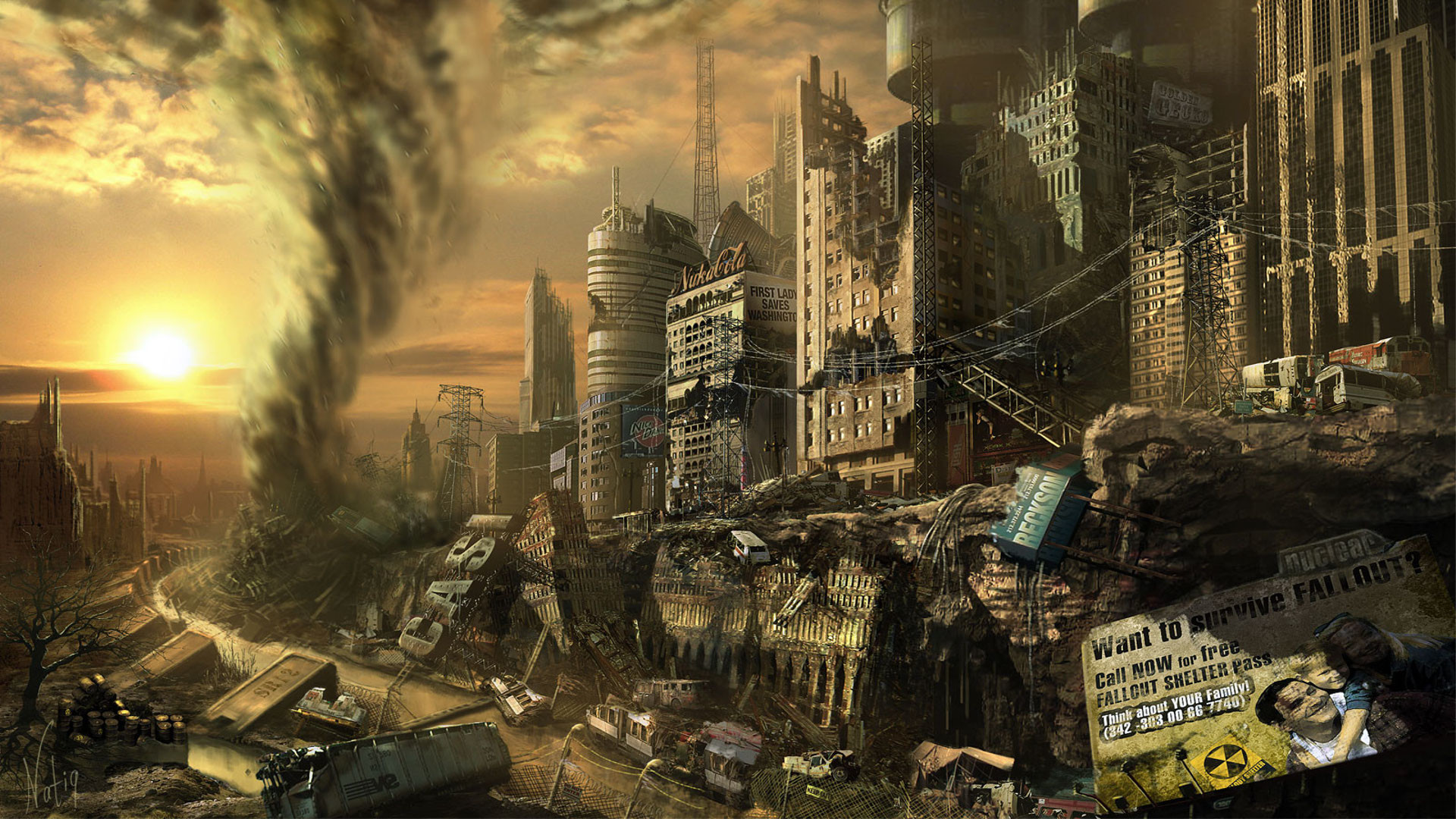 Res: 1920x1080, Fallout 3 HD Wallpapers 11 - 1920 X 1080