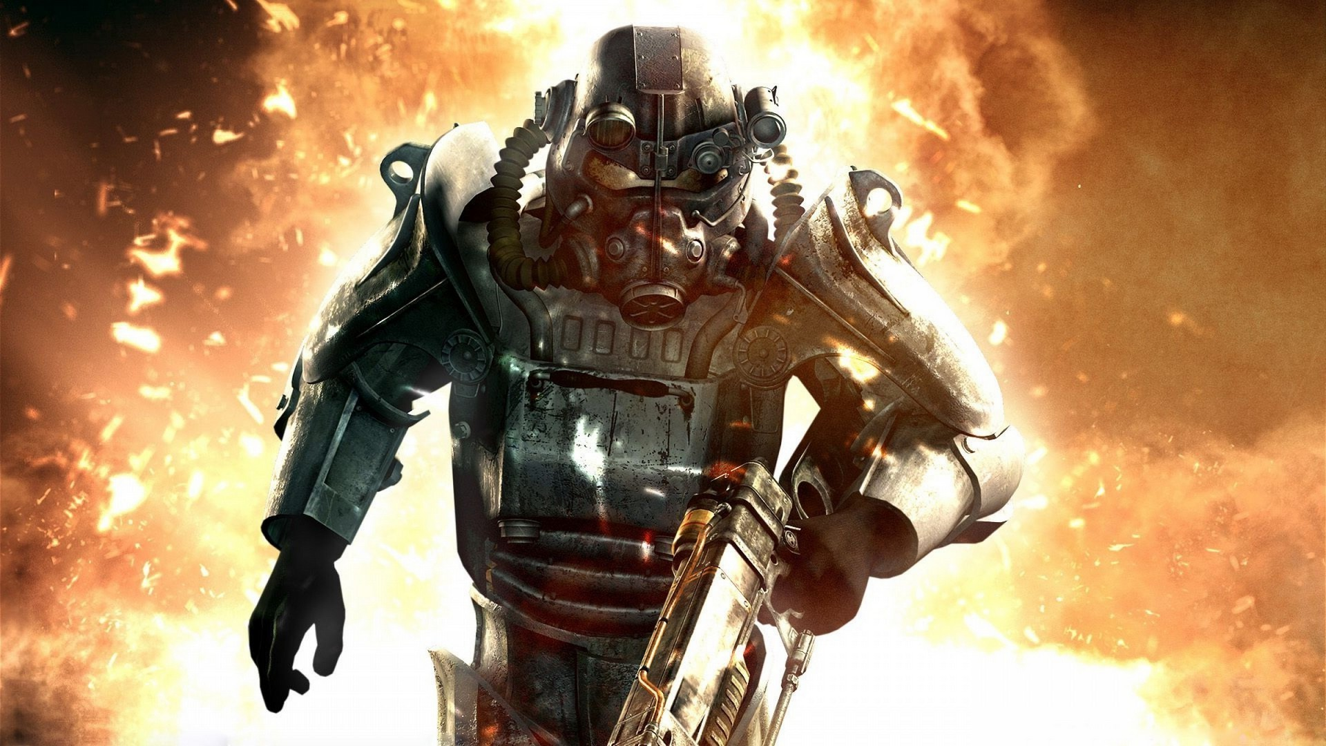 Res: 1920x1080, video Games, Fallout 3, Power Armor, Fallout Wallpapers HD / Desktop and  Mobile Backgrounds
