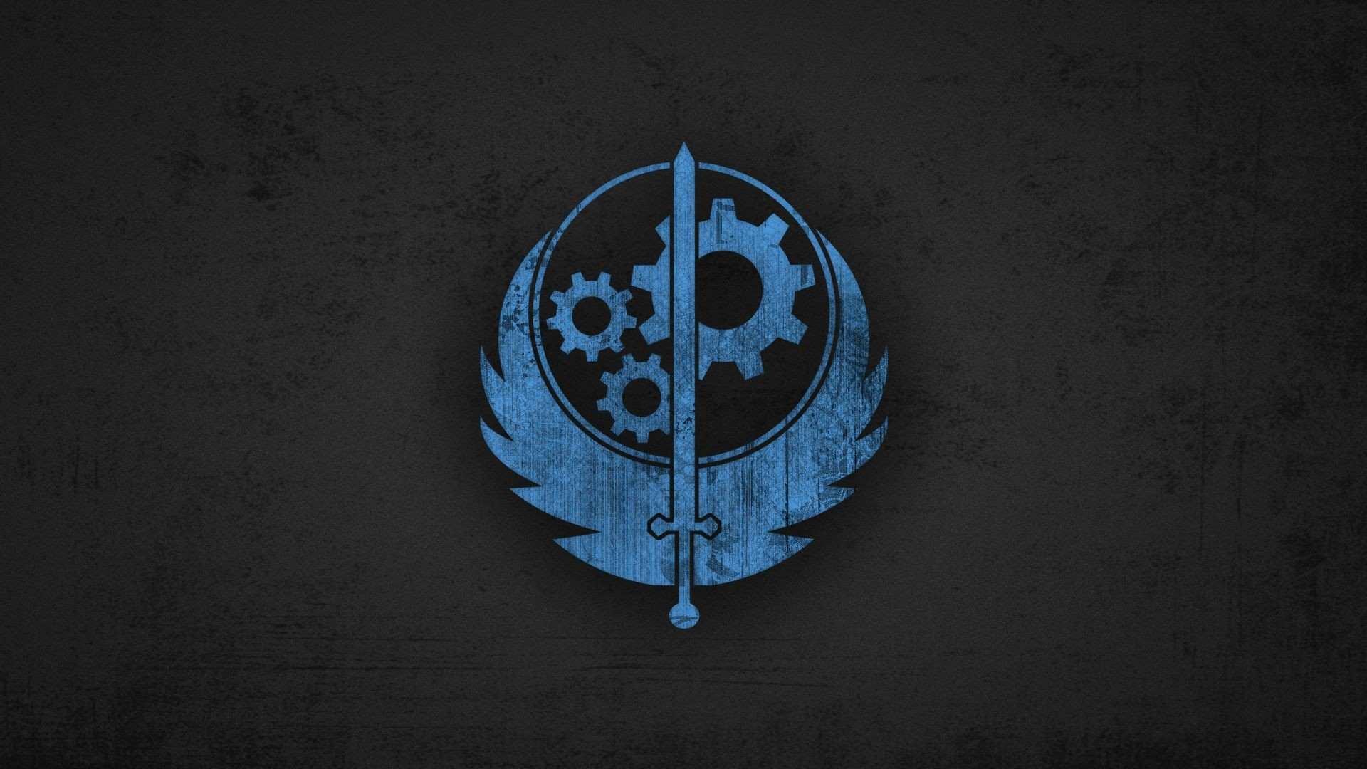 Res: 1920x1080, Brotherhood of Steel Fallout Wallpaper