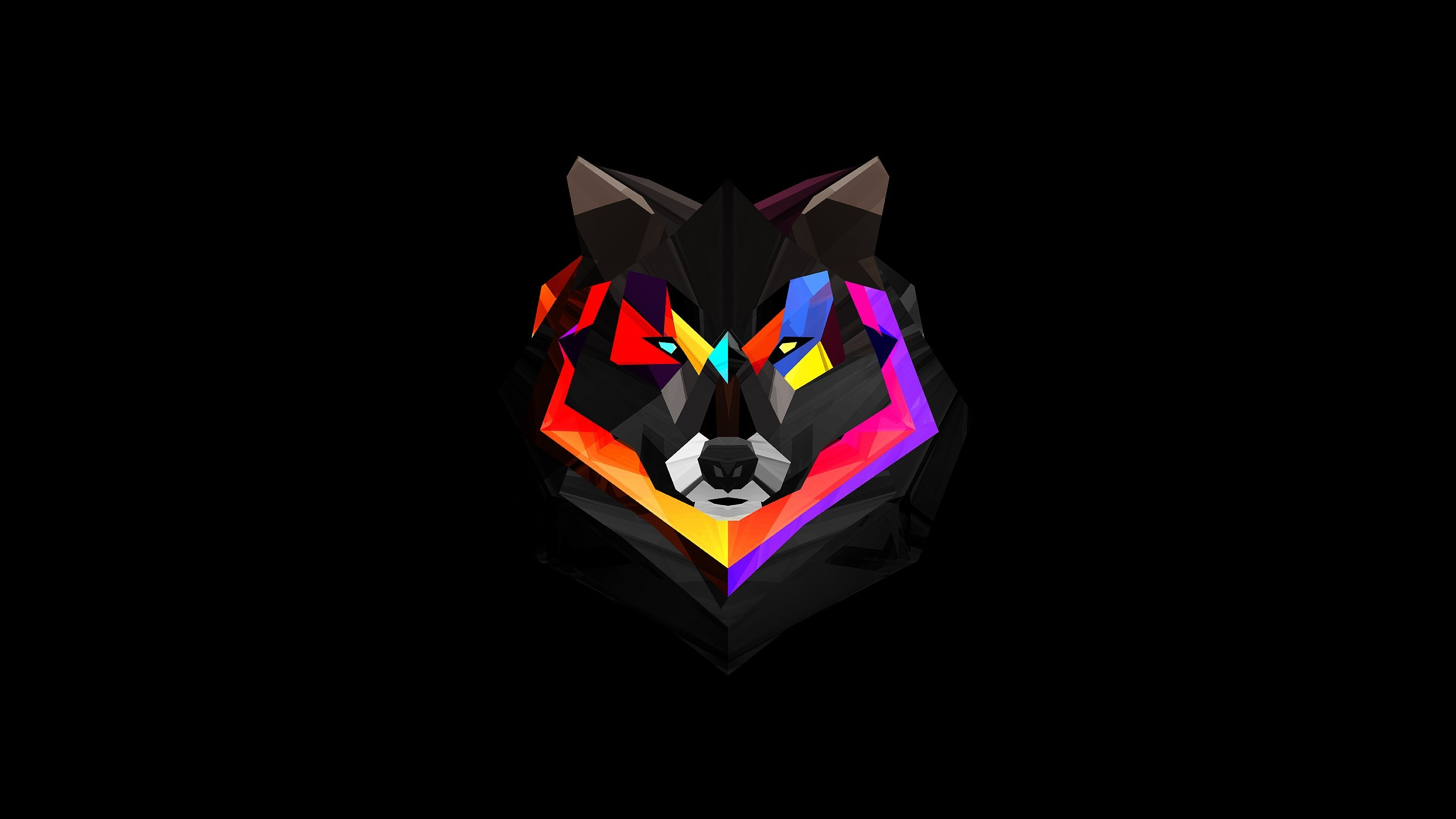 Res: 2560x1440, Wolf (x-post from /r/wallpaper) ...