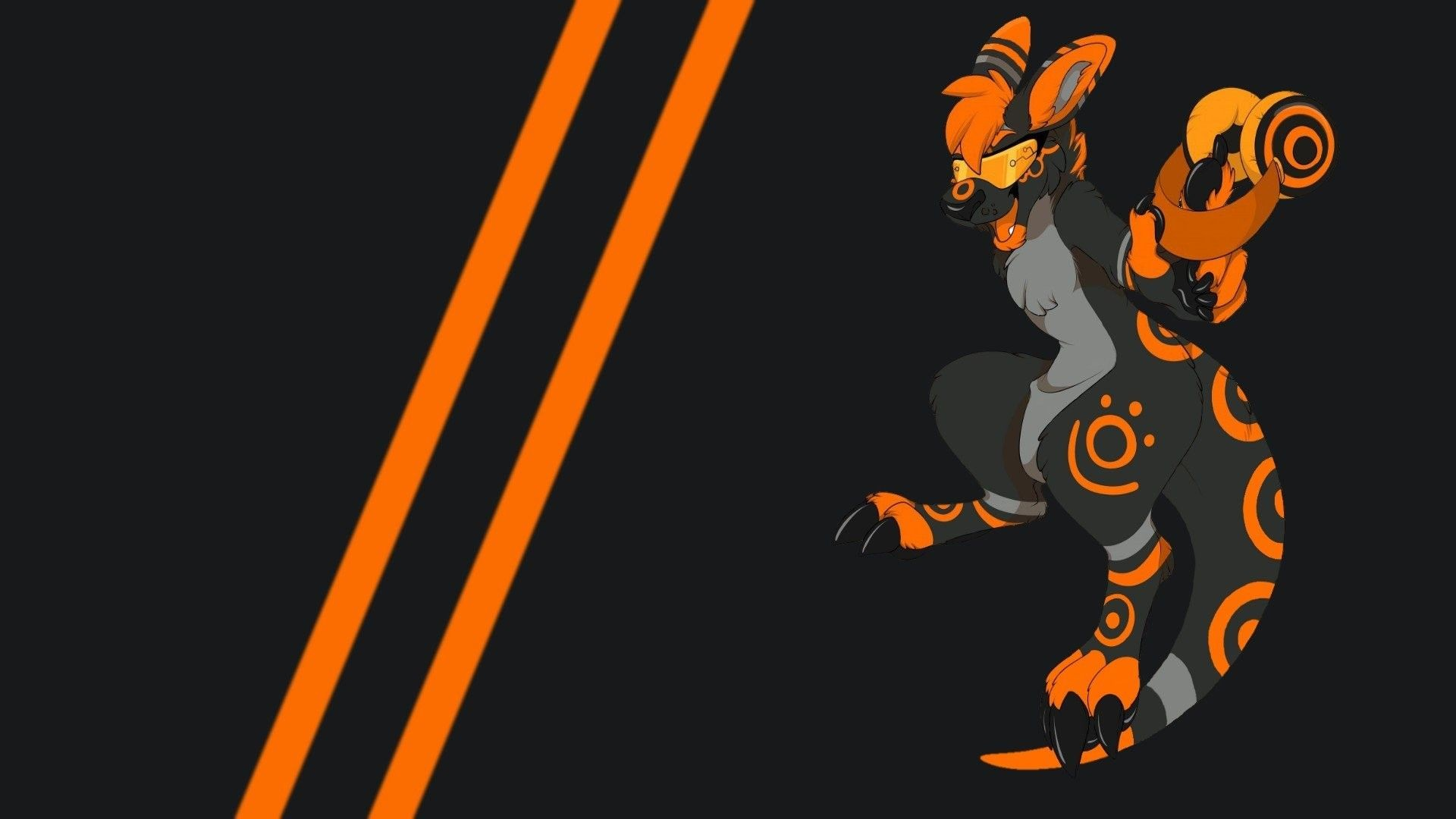 Res: 1920x1080,  Anthro, Furry Wallpaper HD