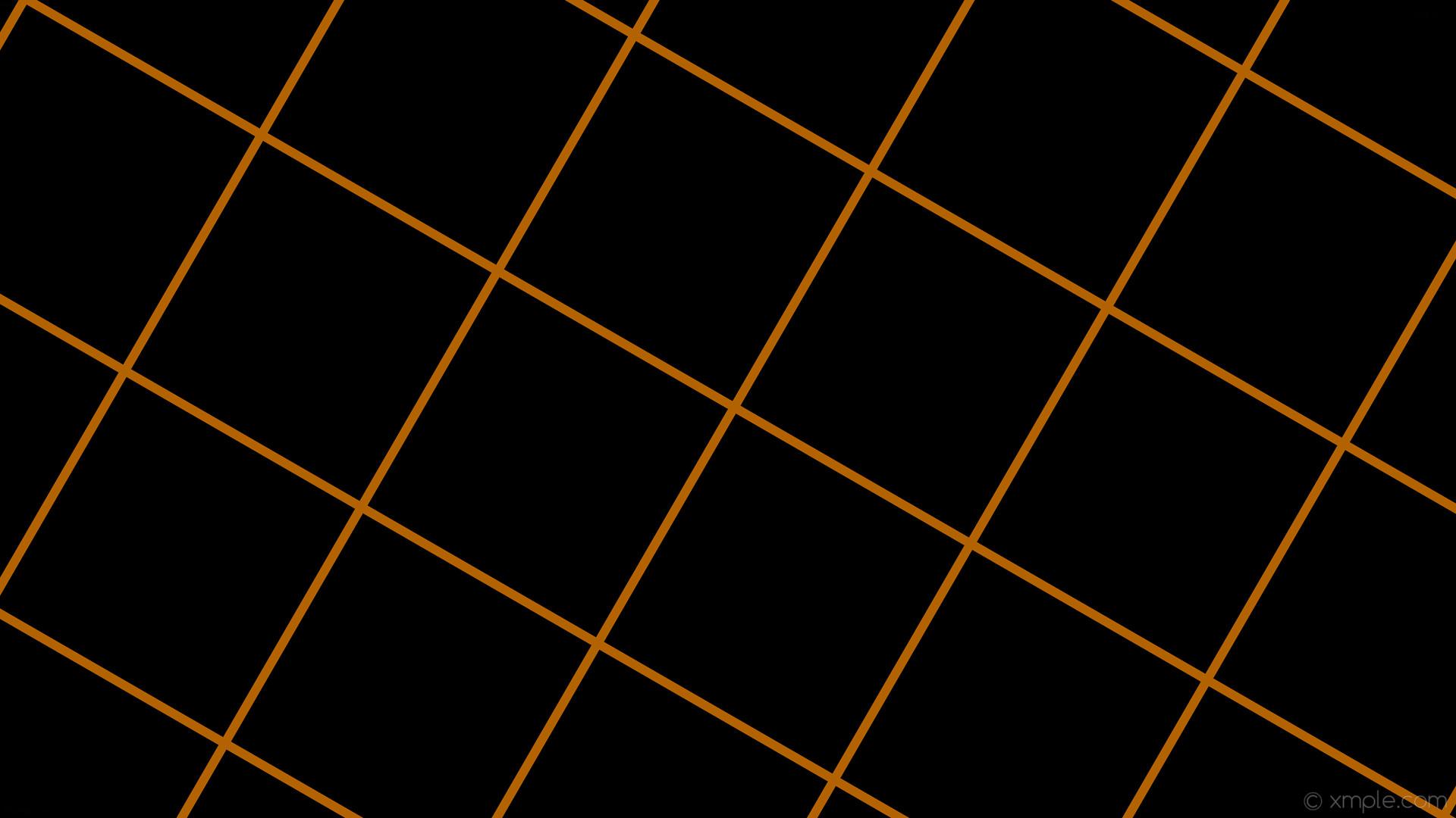 Res: 1920x1080, wallpaper graph paper orange black grid dark orange #000000 #ff8c00 60°  12px 360px