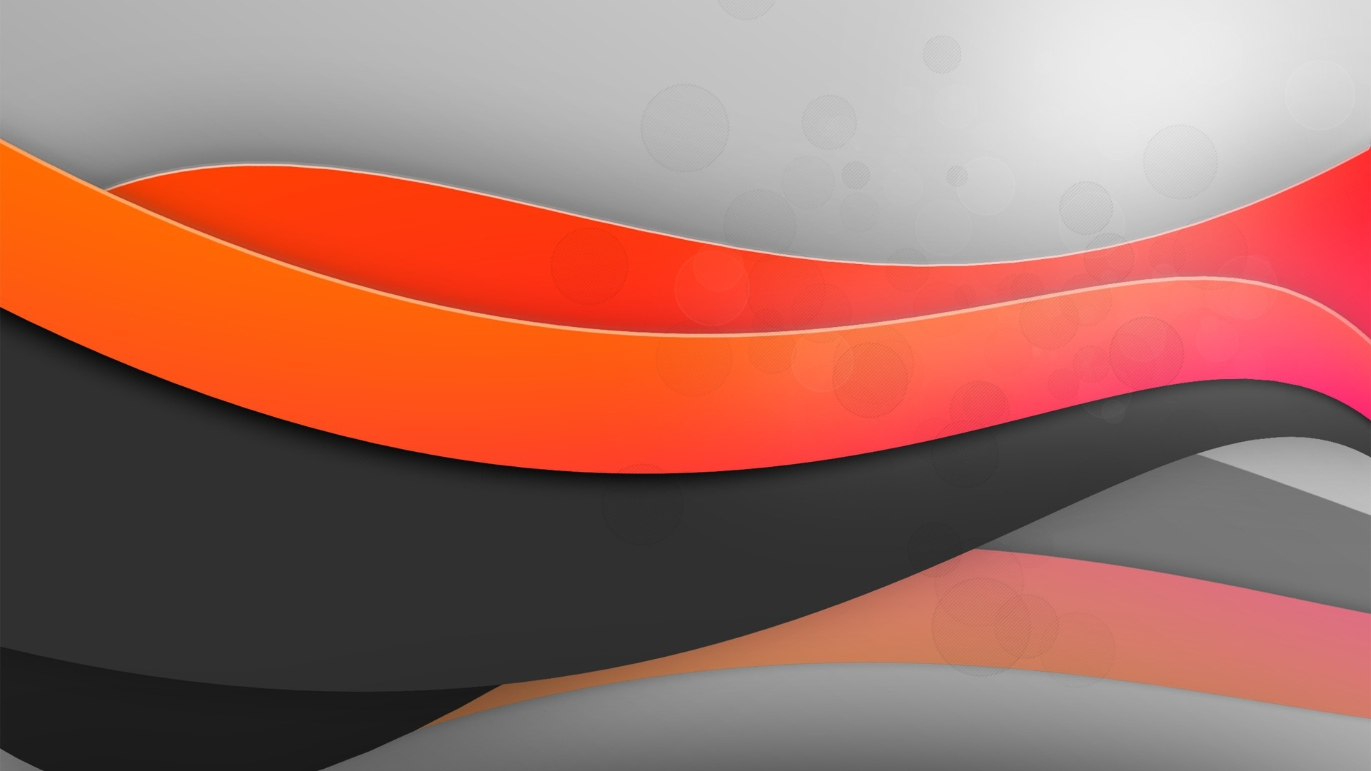 Res: 1920x1080, Download now full hd wallpaper wave orange black grey background ...