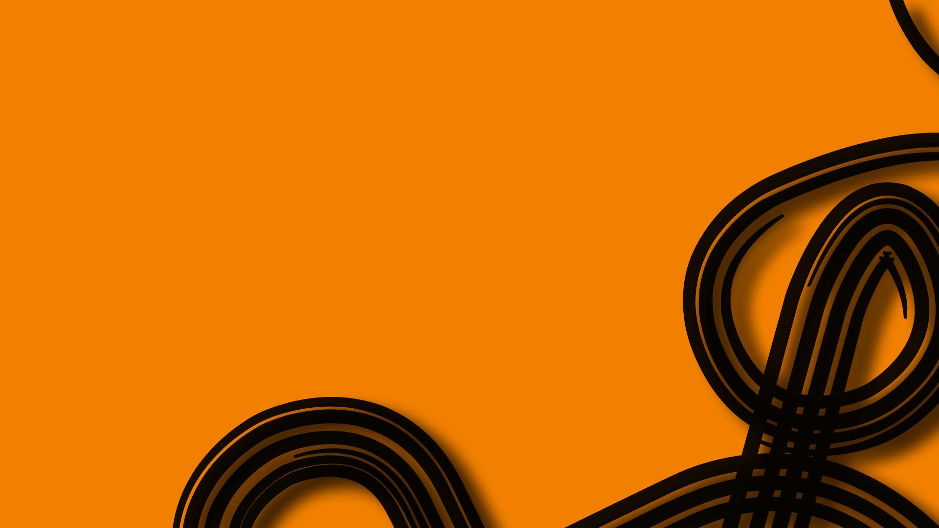Res: 1920x1080, orange black curve #9dnn