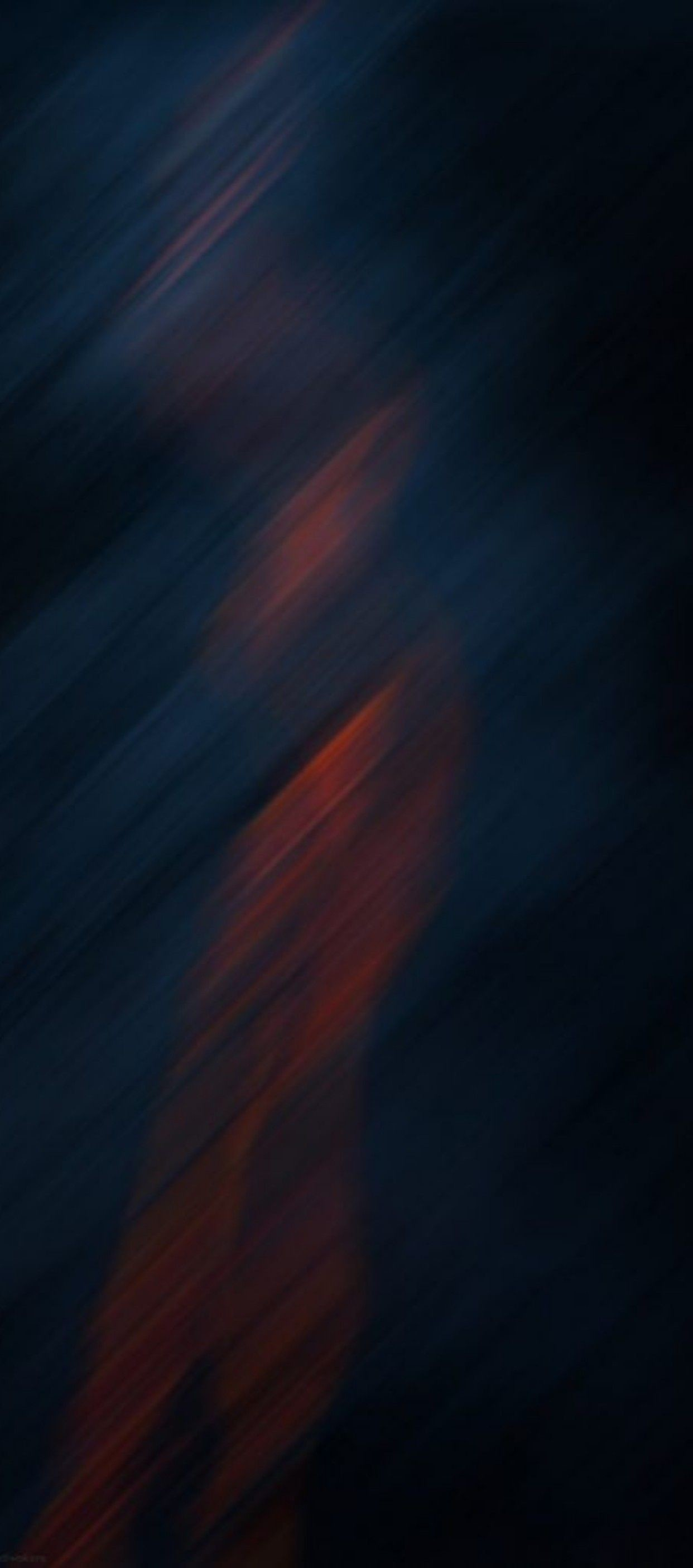 Res: 1242x2809, OS 11, iPhone X, abstract, black, orange, apple, wallpaper,