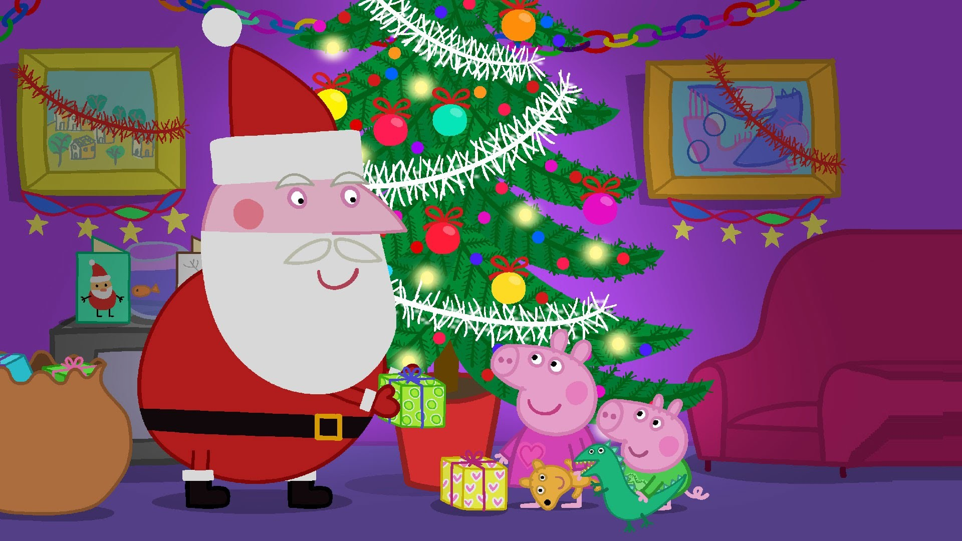 Res: 1920x1080, Peppa Pig Christmas Commercials Toys / Peppa Navidad Comerciales Juguetes -  YouTube