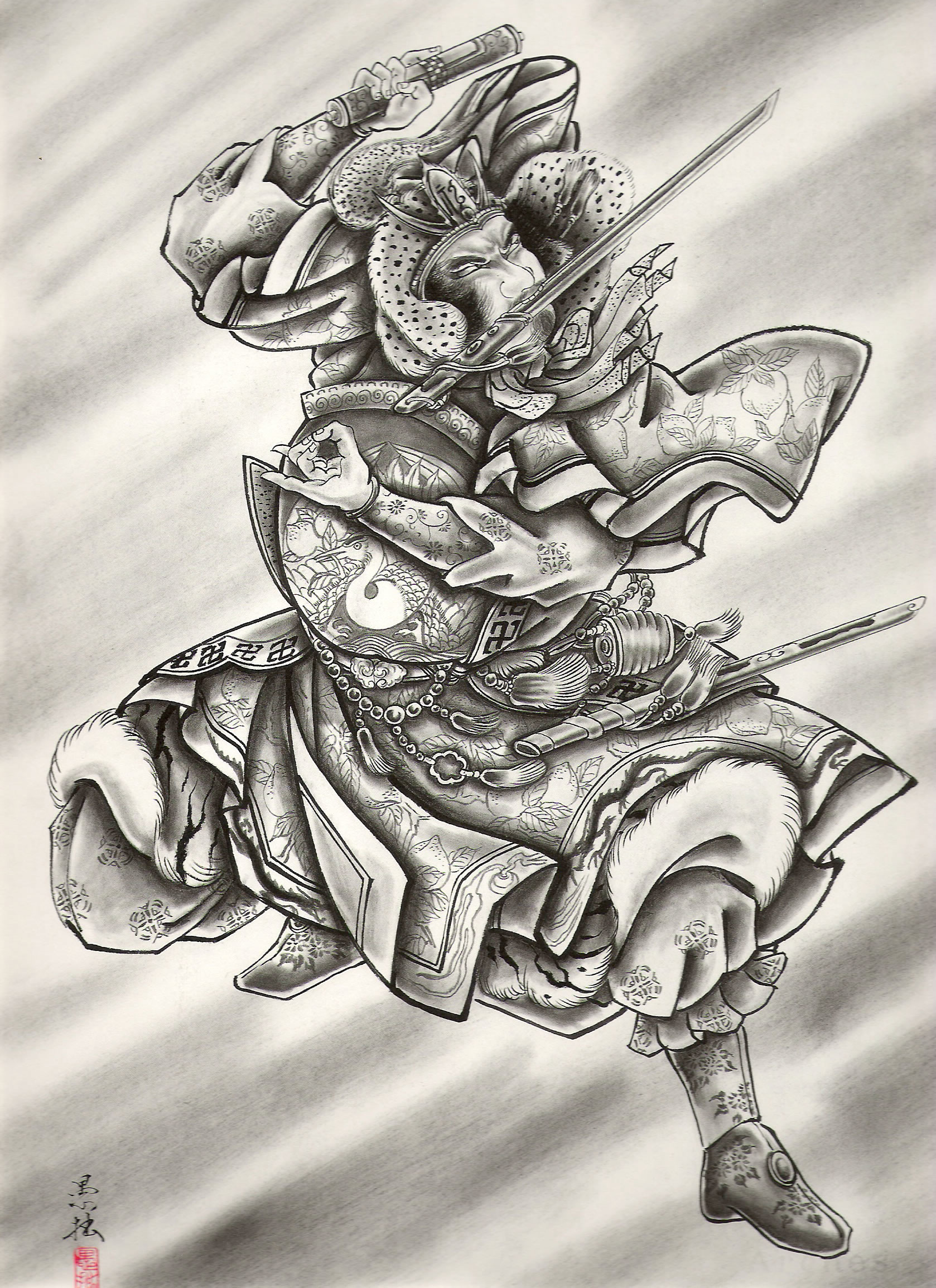 Res: 1678x2308, traditional japanese tattoo designs