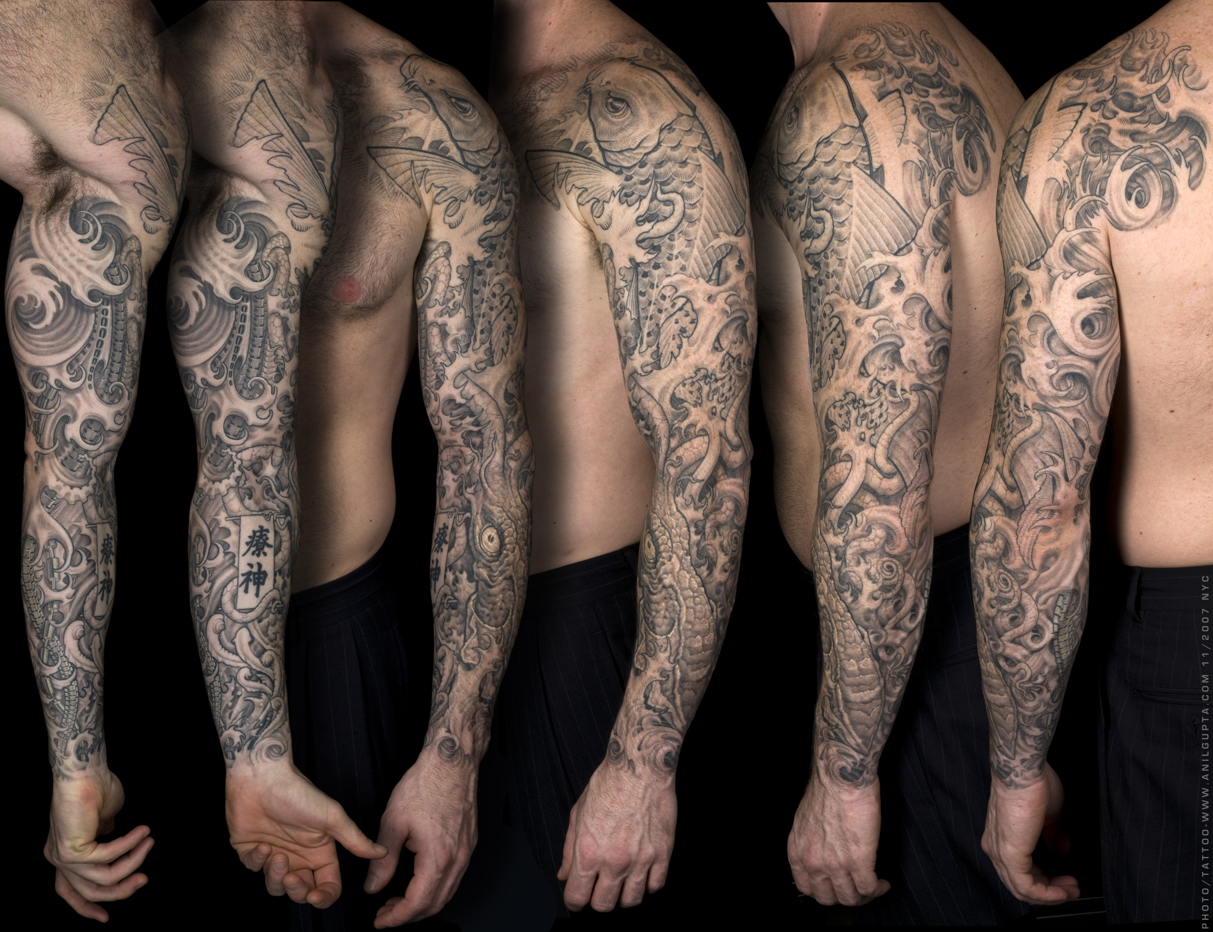 Res: 2500x1921, Artistic - Tattoo Trippy Psychedelic Artistic Wallpaper