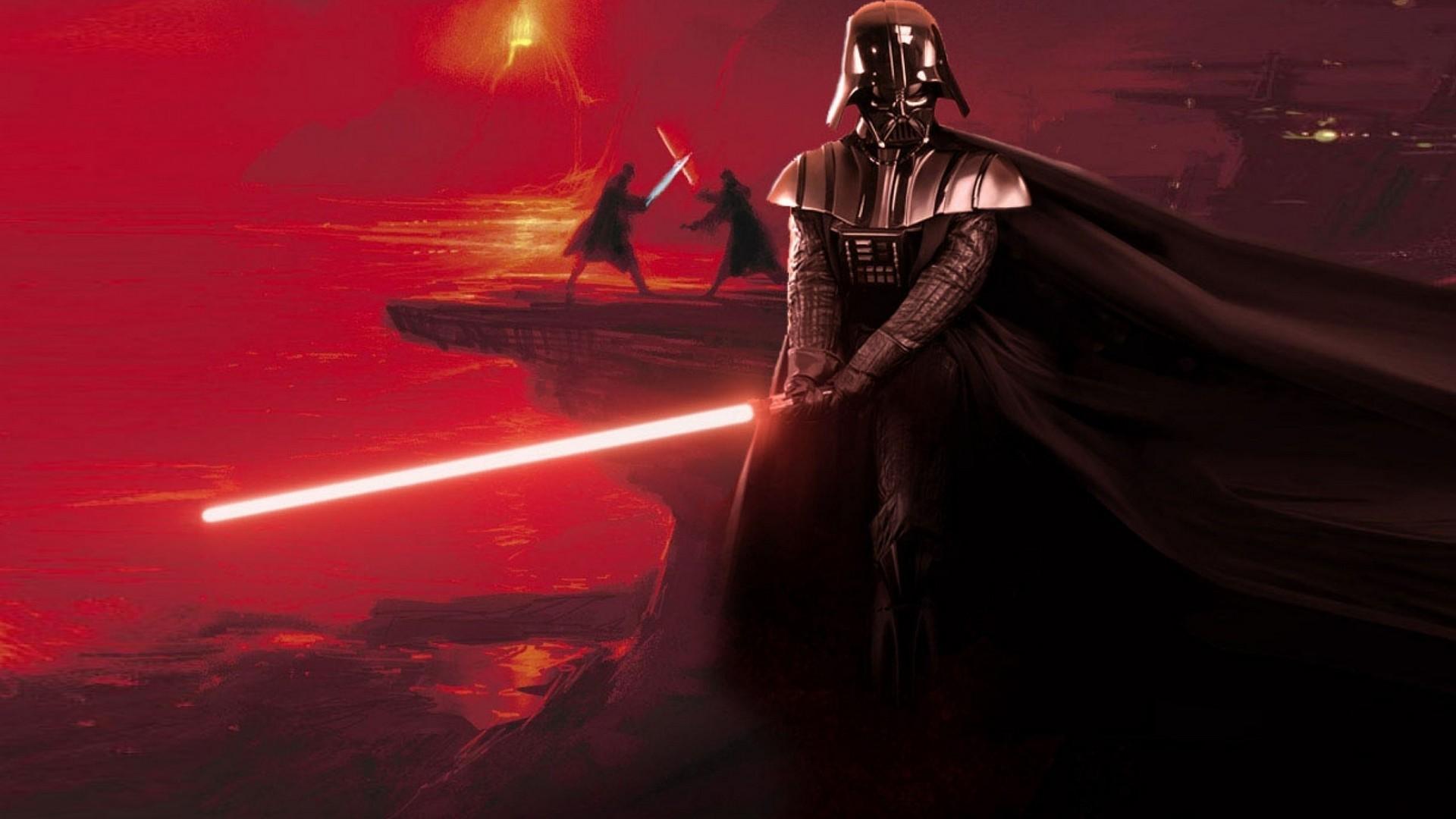 Res: 1920x1080, Star Wars Darth Vader Sith Lava Lightsabers Wallpaper HD